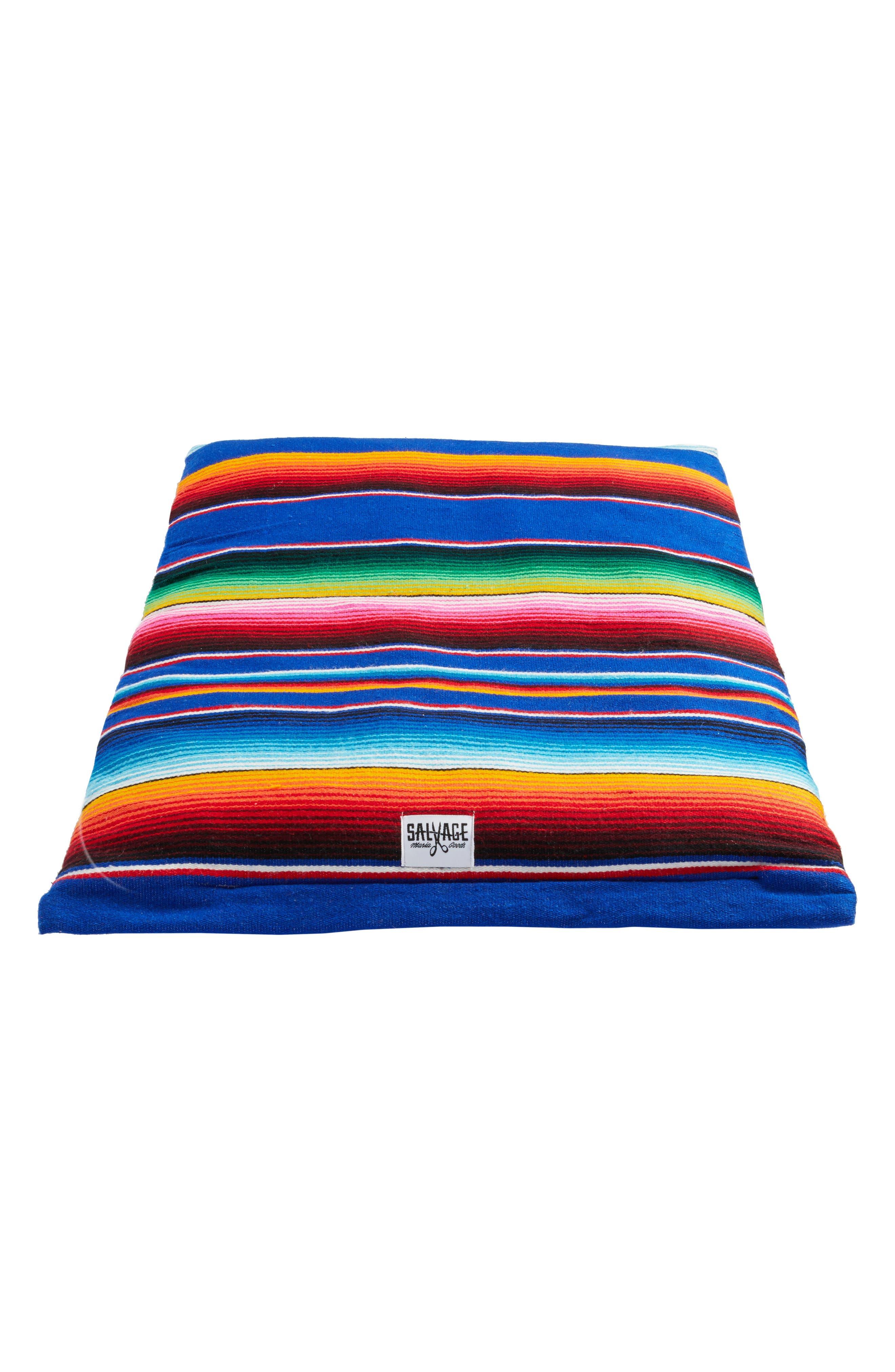 Saltillo Serape Roll-Up Dog Bed,                             Main thumbnail 1, color,