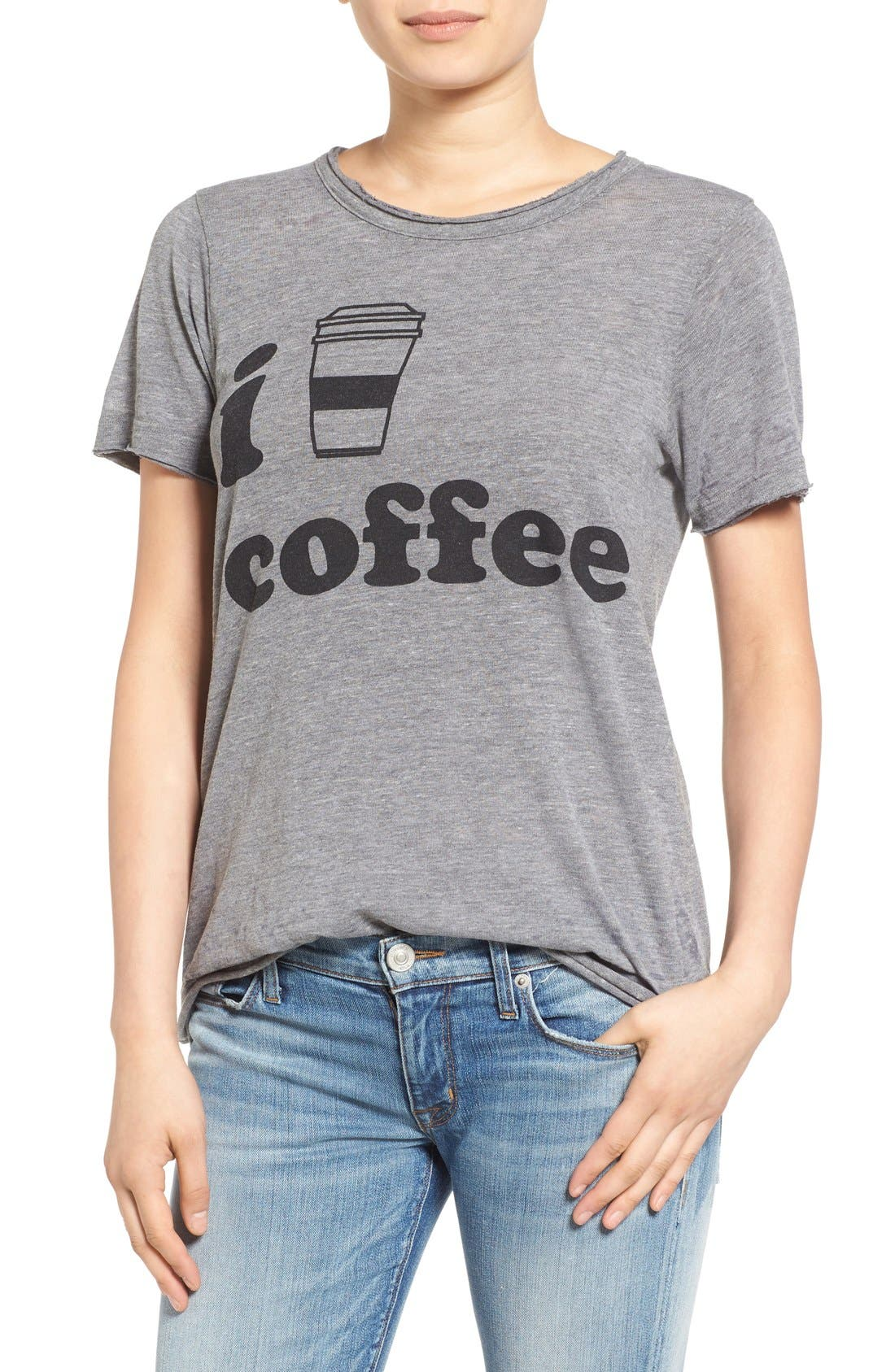 CHASER Coffee Graphic Tee, Main, color, 035