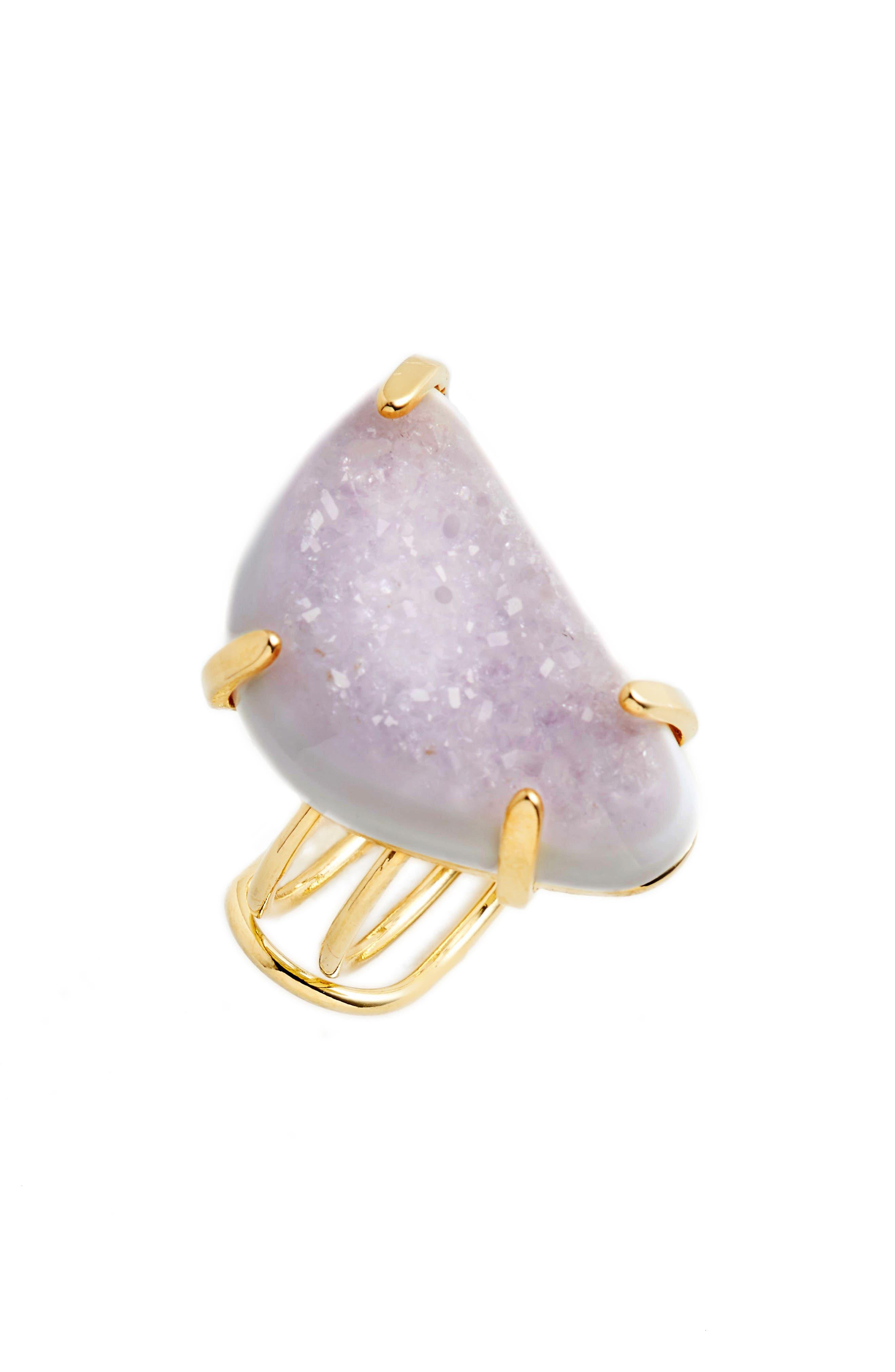 Quartz Statement Ring,                         Main,                         color, 100