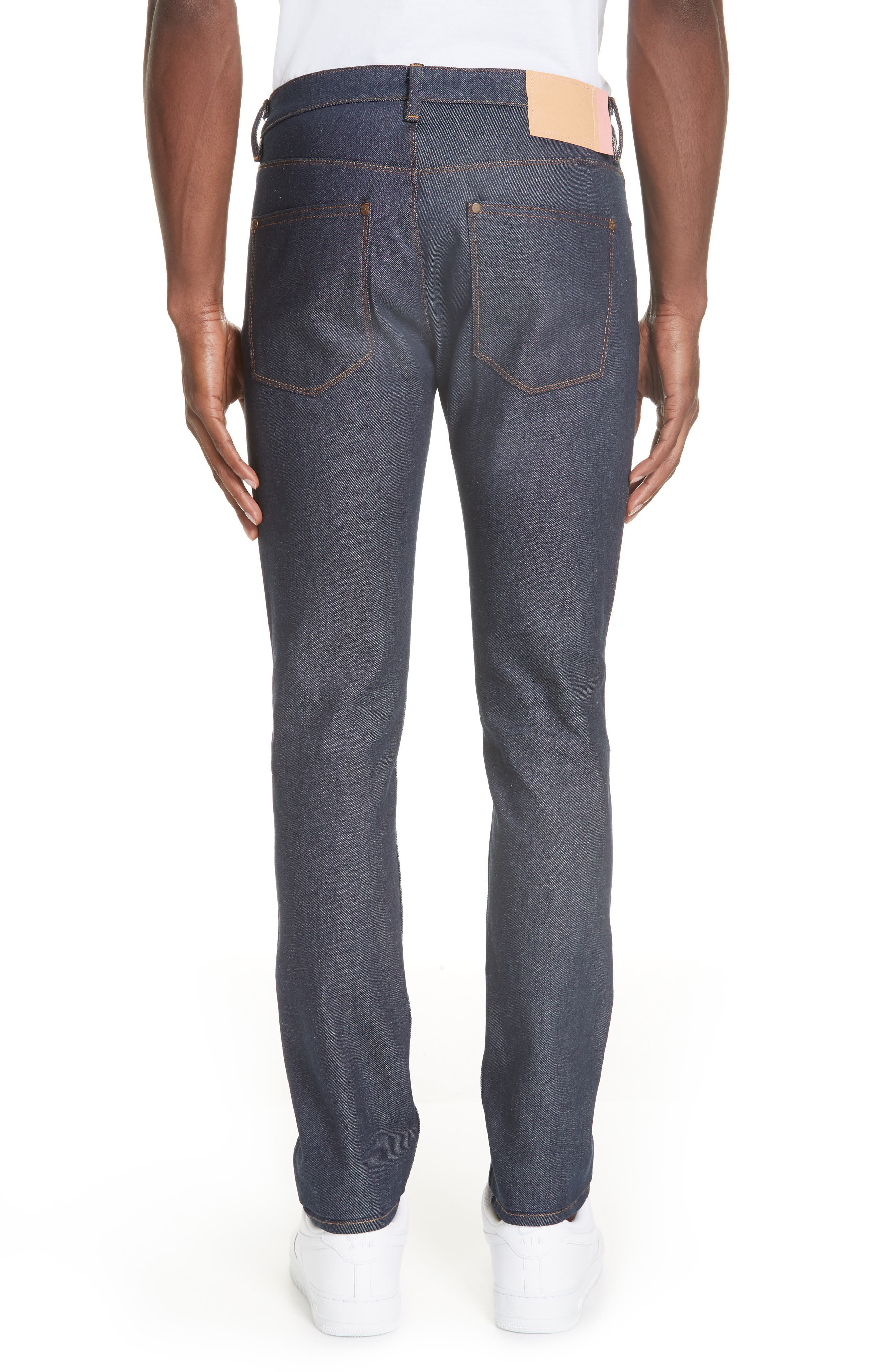 Max Slim Straight Leg Jeans,                             Alternate thumbnail 2, color,                             MAX INDIGO