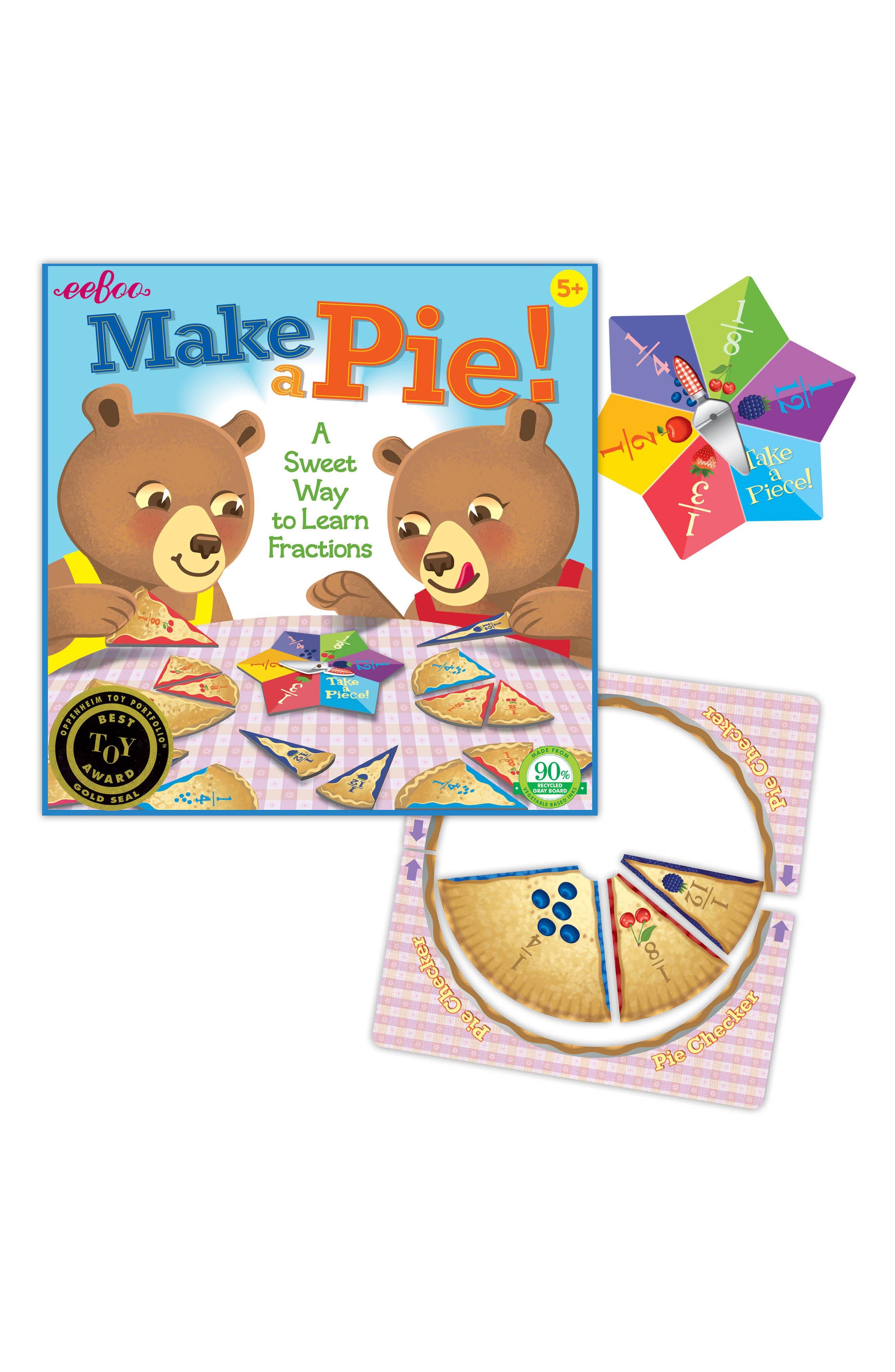 Make a Pie Game,                             Alternate thumbnail 2, color,                             BLUE