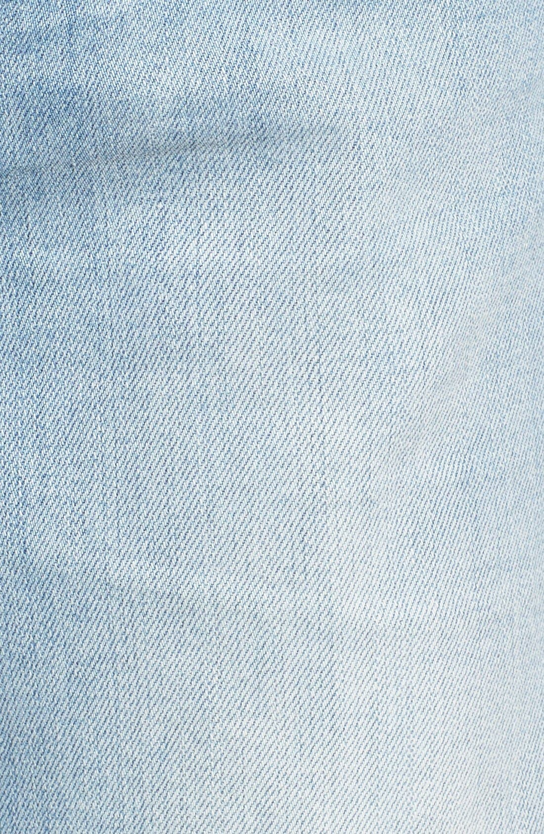 'Taylor' Distressed Jeans,                             Alternate thumbnail 4, color,                             404