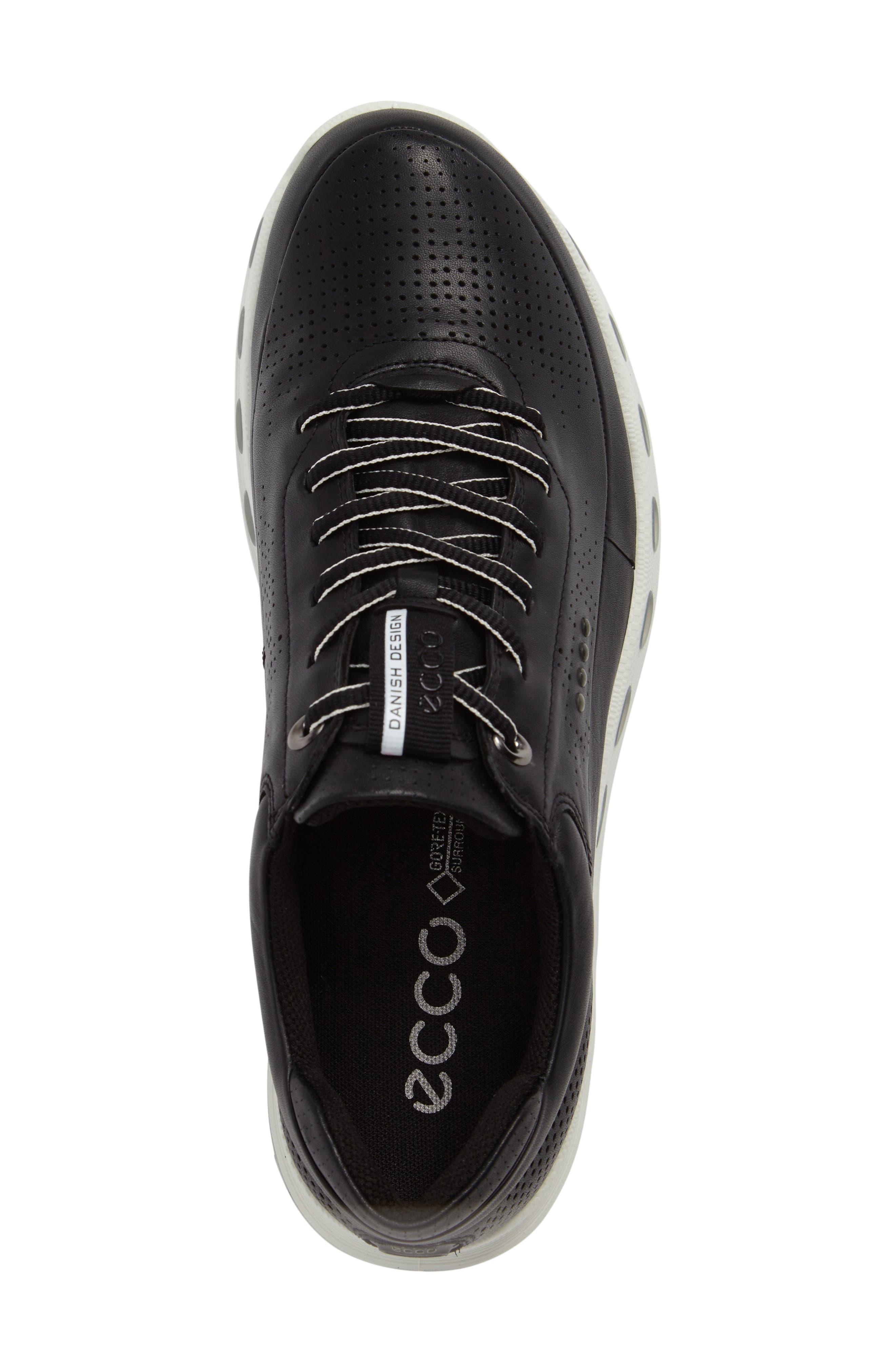 Cool 2.0 Leather GTX Sneaker,                             Alternate thumbnail 5, color,                             BLACK
