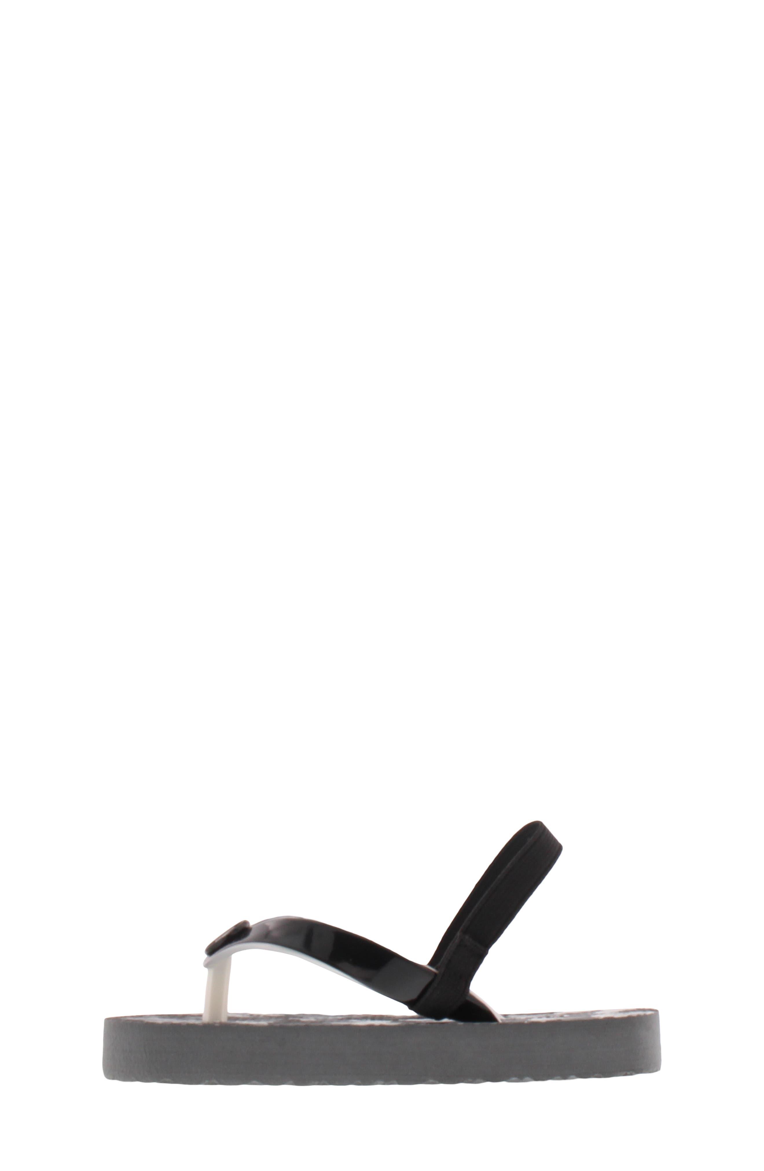 Endine Butterfly Sandal,                             Alternate thumbnail 8, color,                             BLACK GREY