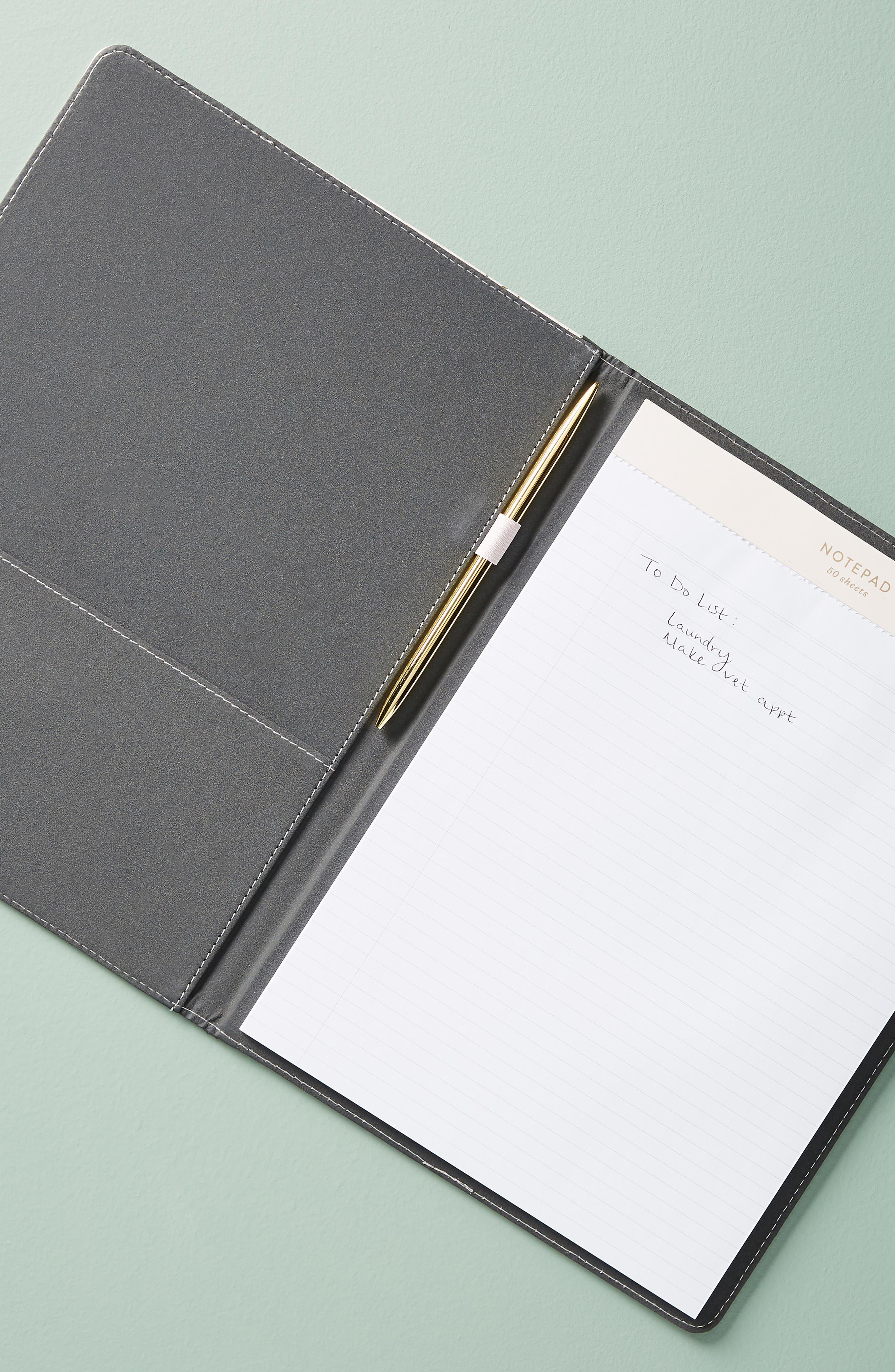 Mila Notepad Folio,                             Alternate thumbnail 3, color,                             650
