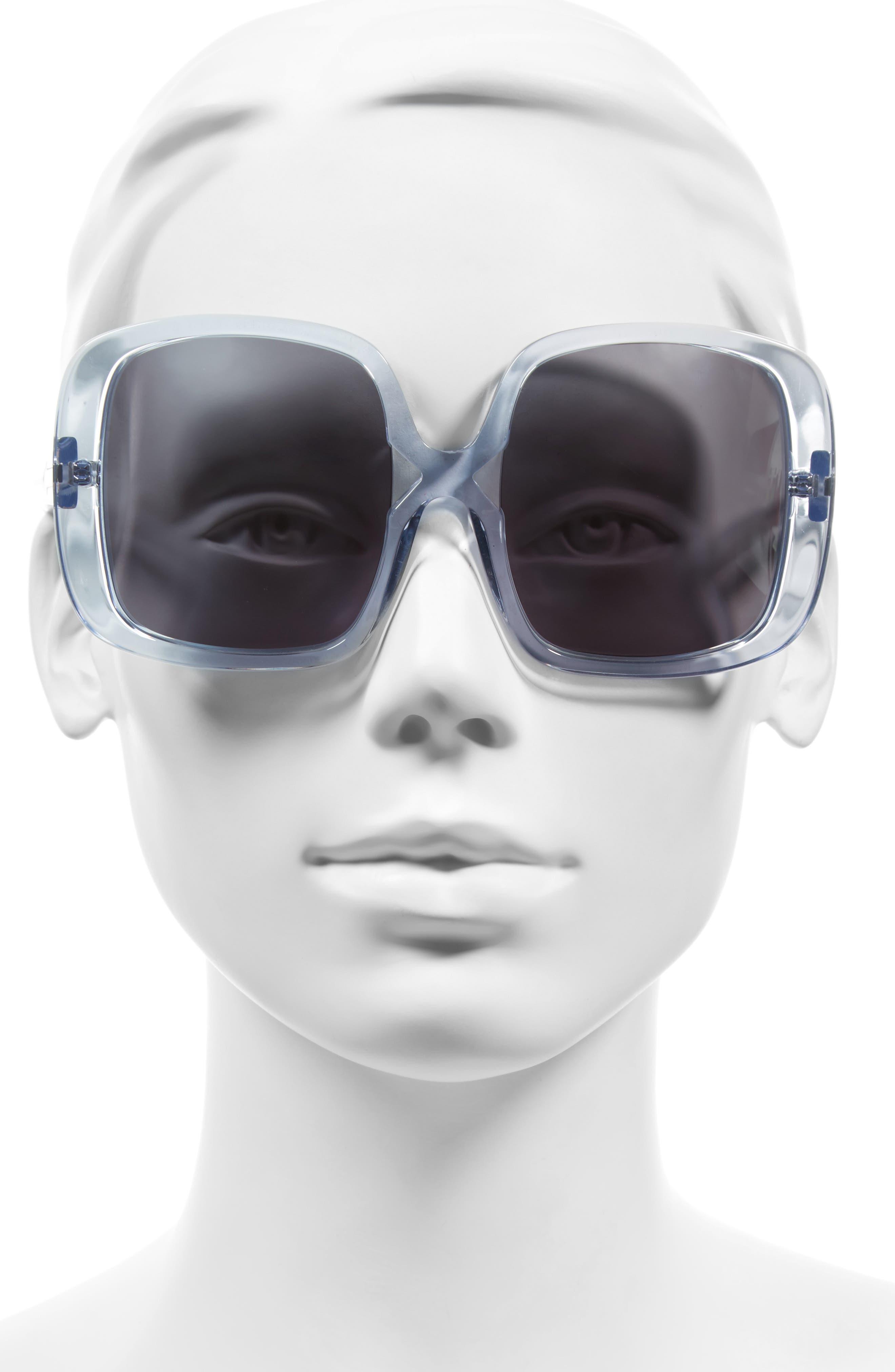 Marques 55mm Square Sunglasses,                             Alternate thumbnail 2, color,                             040