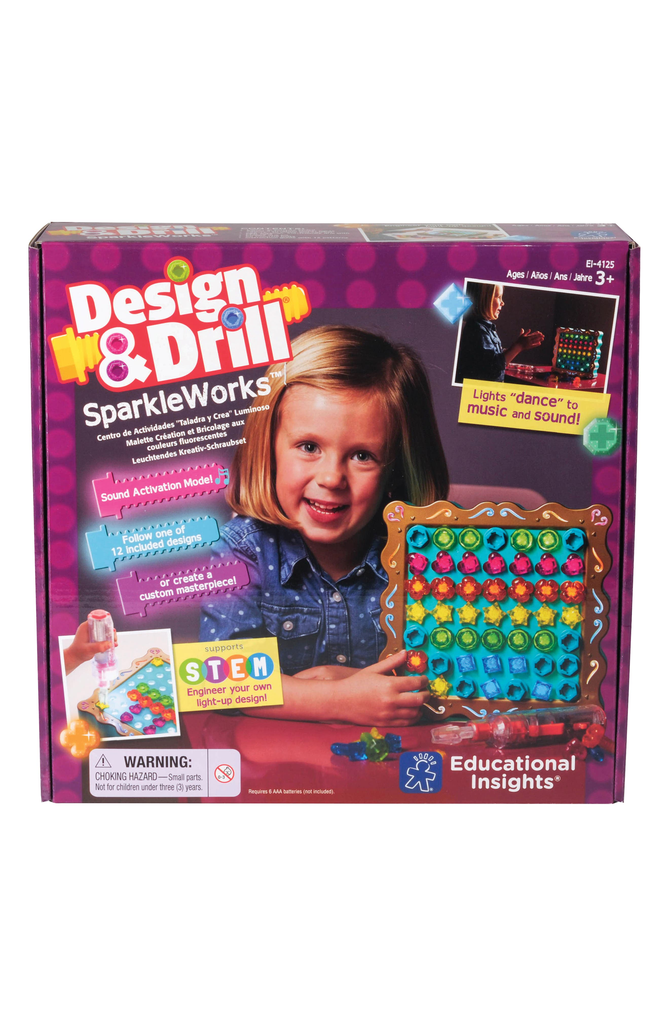 Educational Insights Design  Drill Sparkleworks(TM) Toy