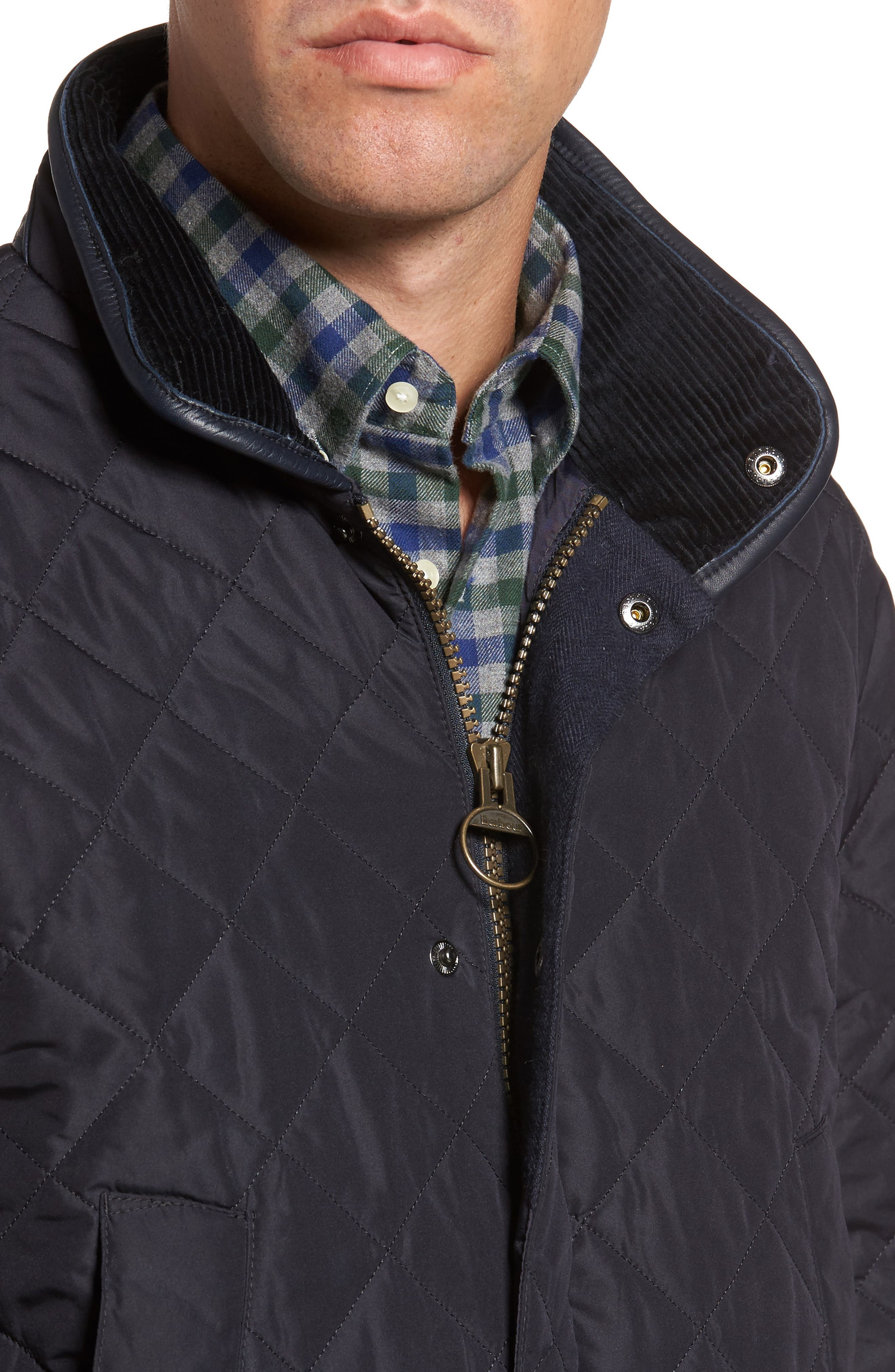 Devon Quilted Water-Resistant Jacket,                             Alternate thumbnail 4, color,                             410