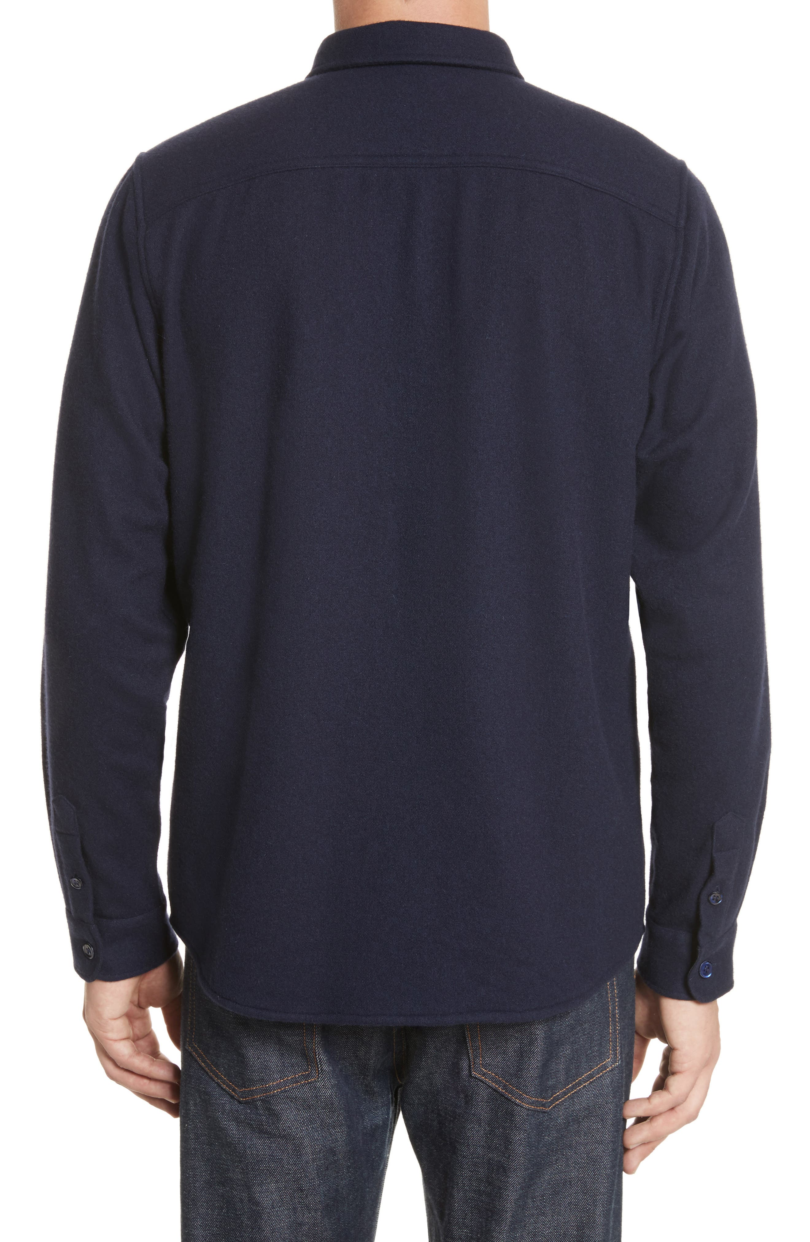 Fritz Wool Blend Shirt Jacket,                             Alternate thumbnail 2, color,                             410
