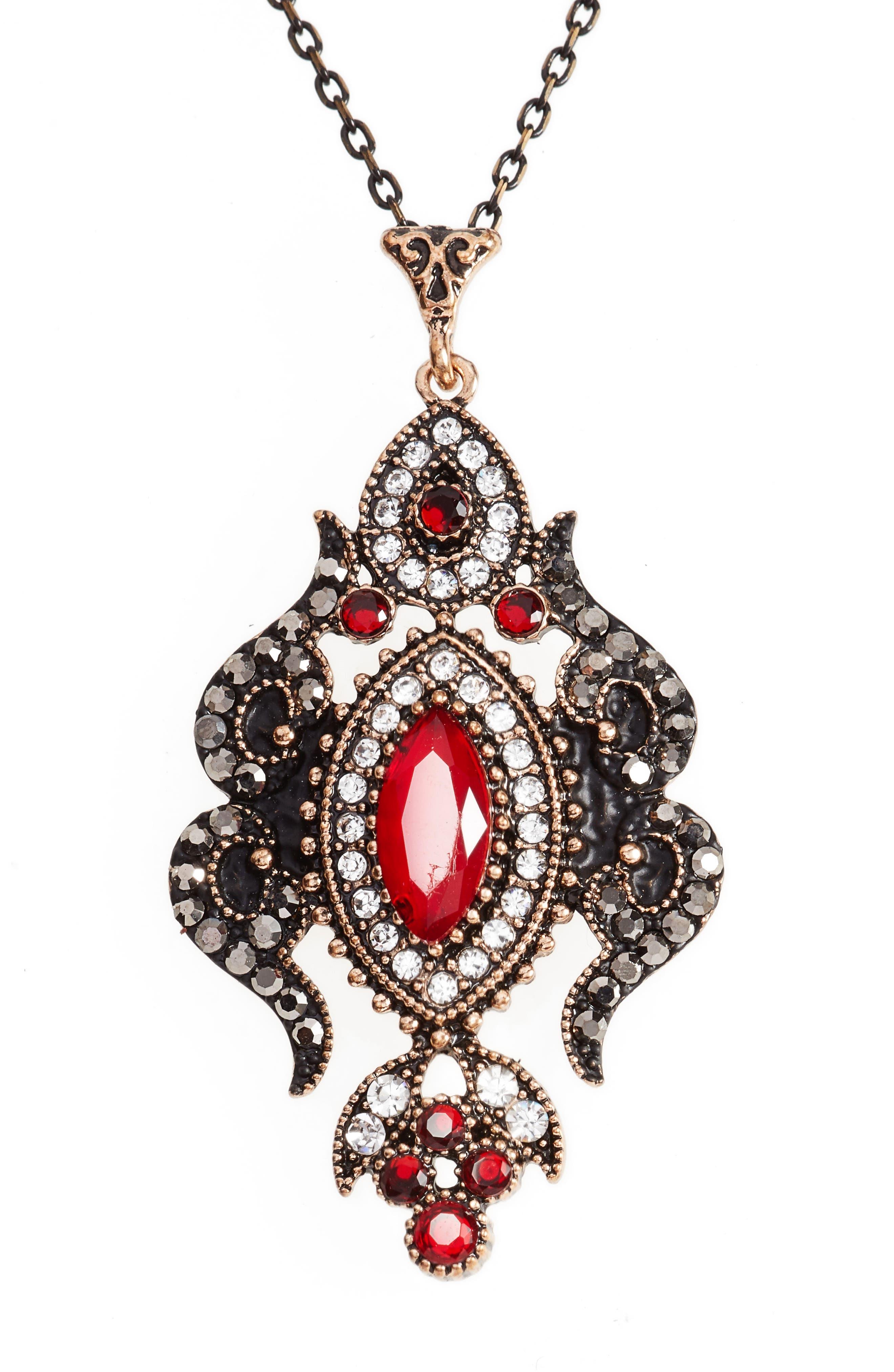 Sareh Nouri Kiana Jewel Pendant Necklace,                             Alternate thumbnail 4, color,