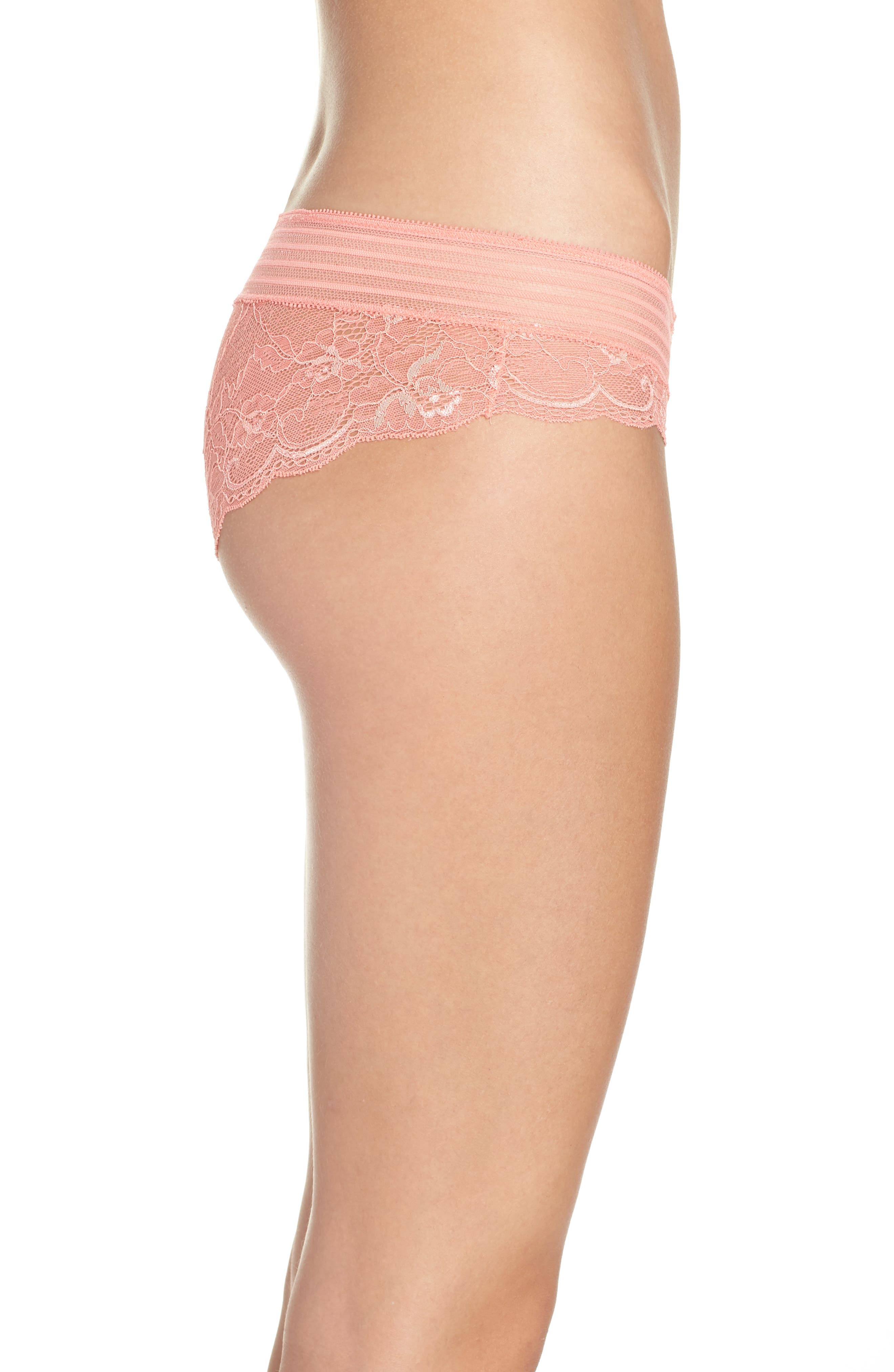 Lace Hipster Panties,                             Alternate thumbnail 18, color,