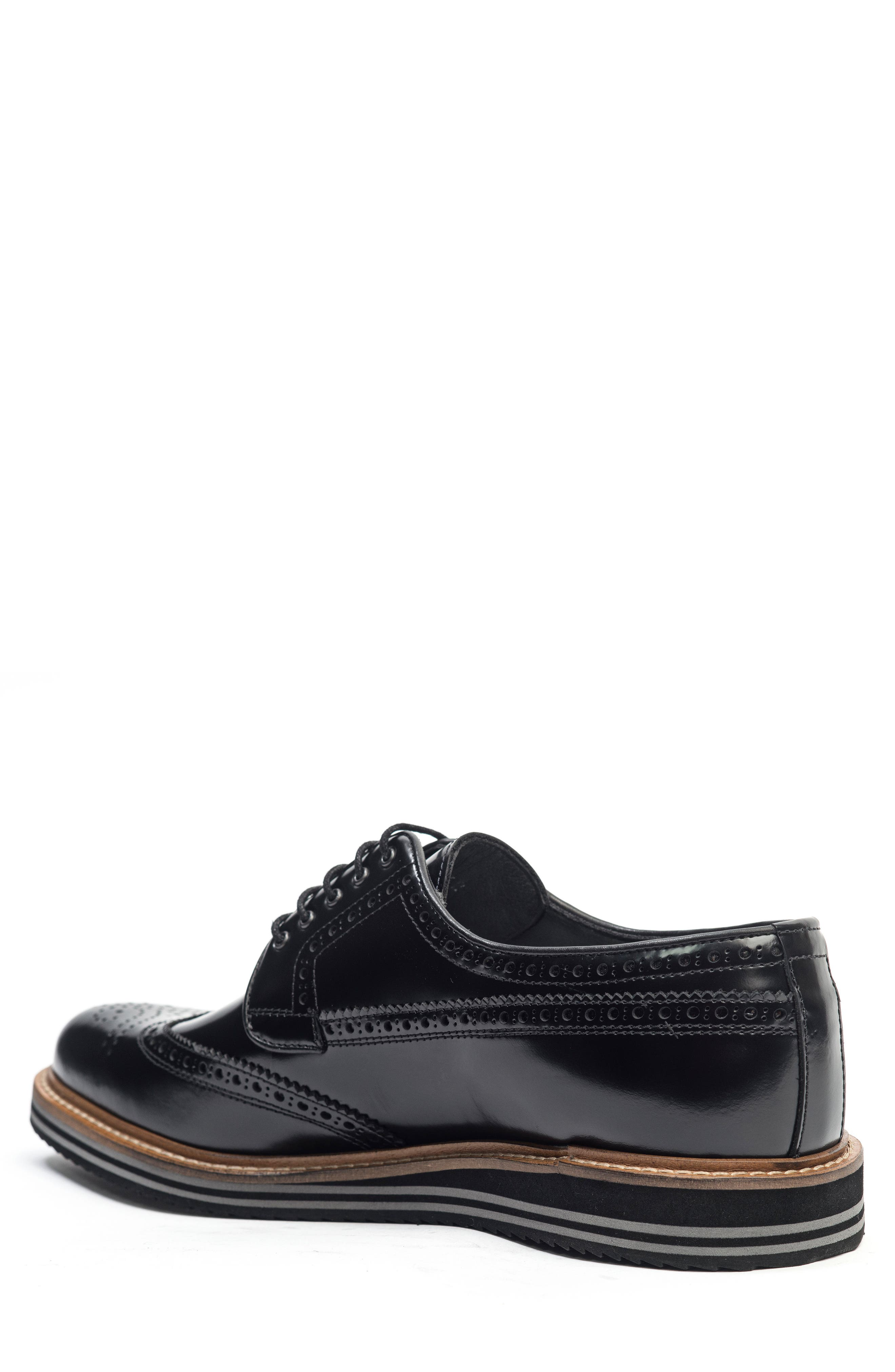Doc Sandwich Sole Wingtip Oxford,                             Alternate thumbnail 2, color,                             001