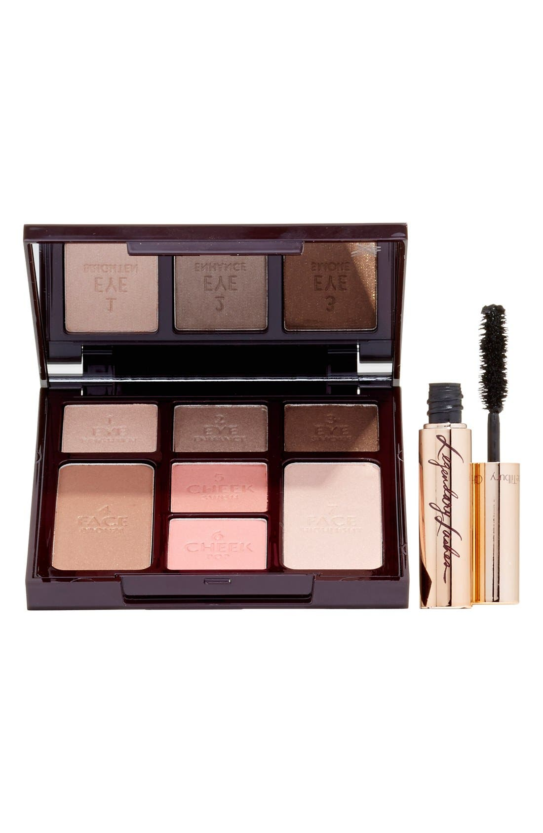 CHARLOTTE TILBURY,                             Instant Beauty Palette - The Dolce Vita Look 5-Minute Face On the Go,                             Alternate thumbnail 2, color,                             000