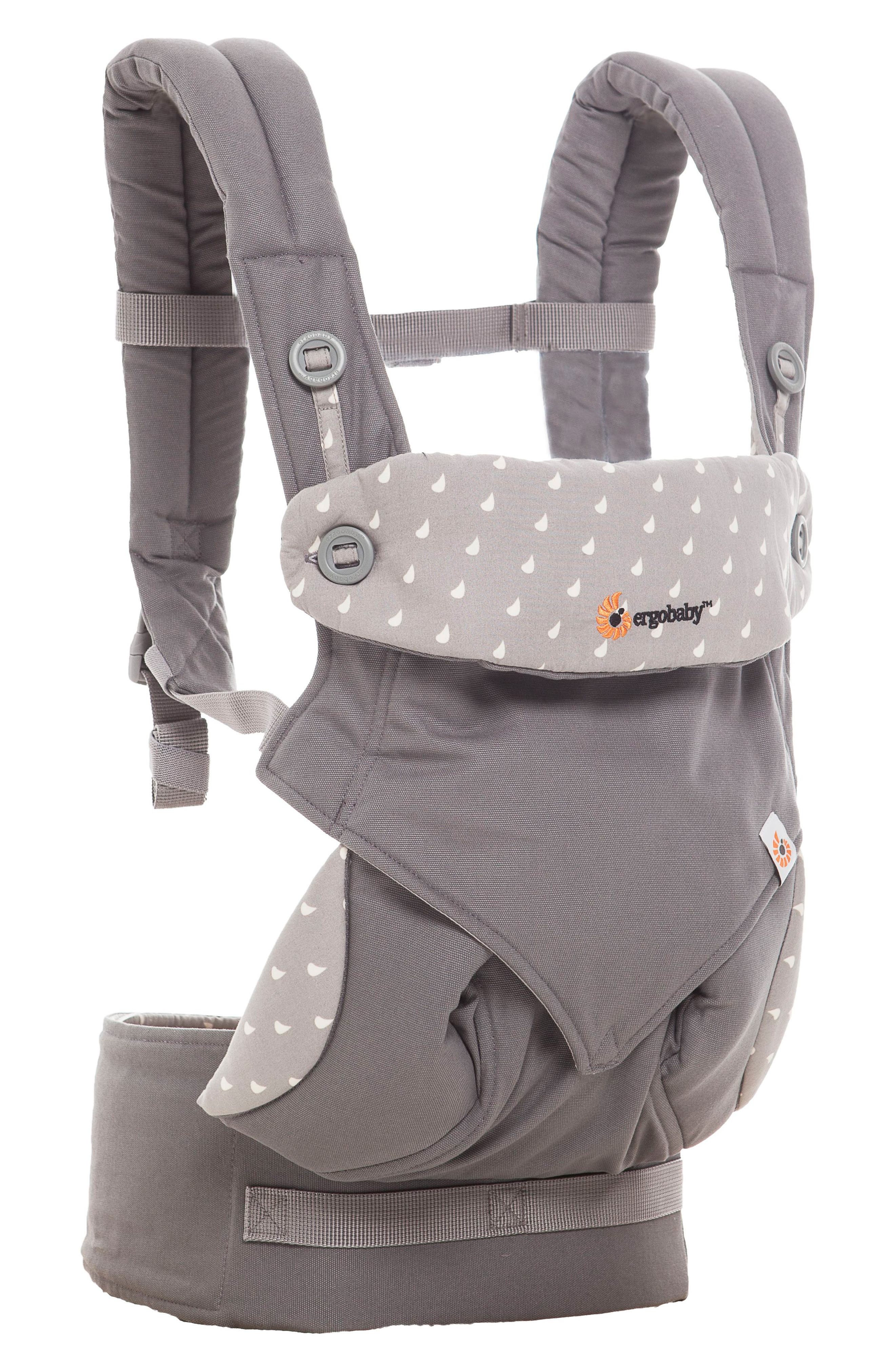 Four Position 360 Baby Carrier,                             Alternate thumbnail 2, color,                             DEWY GREY