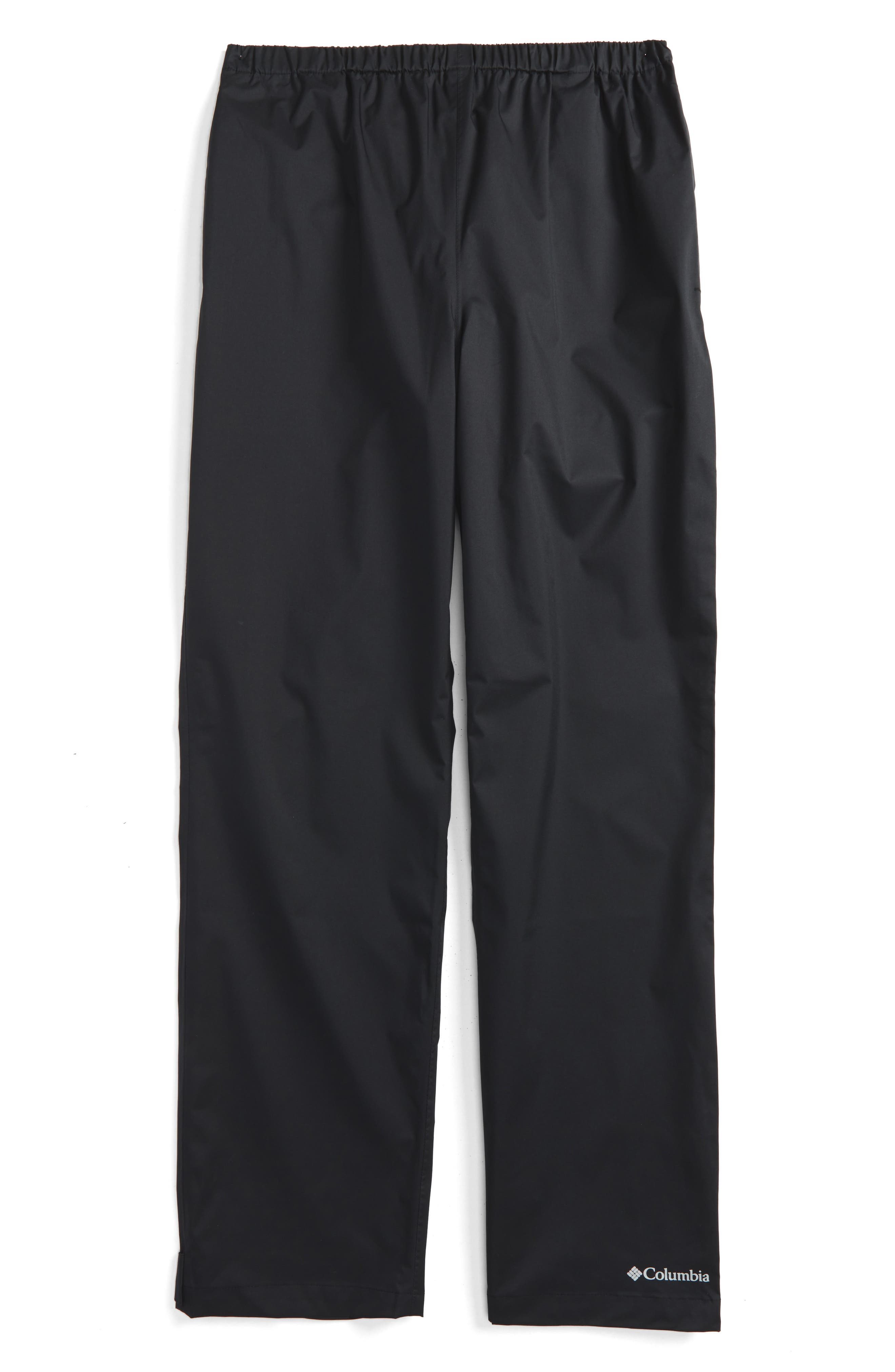 Trail Adventure<sup>™</sup> Waterproof Pants,                         Main,                         color, BLACK