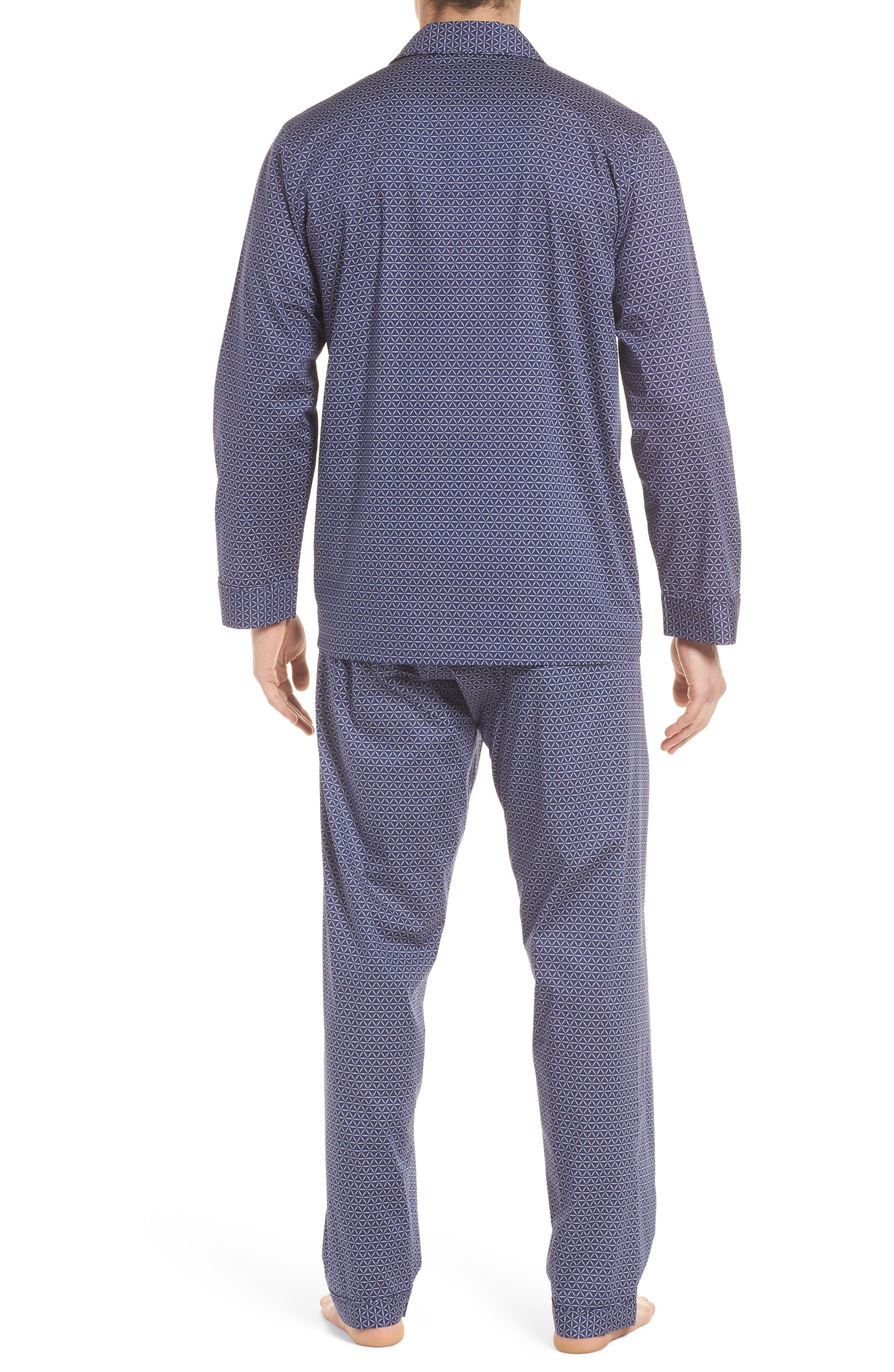 Starling Pajama Set,                             Alternate thumbnail 2, color,                             NAVY