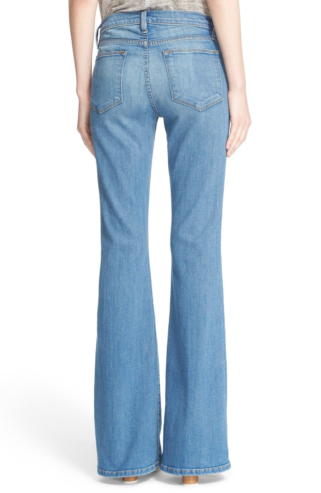 'Le High Flare' Jeans,                             Alternate thumbnail 20, color,