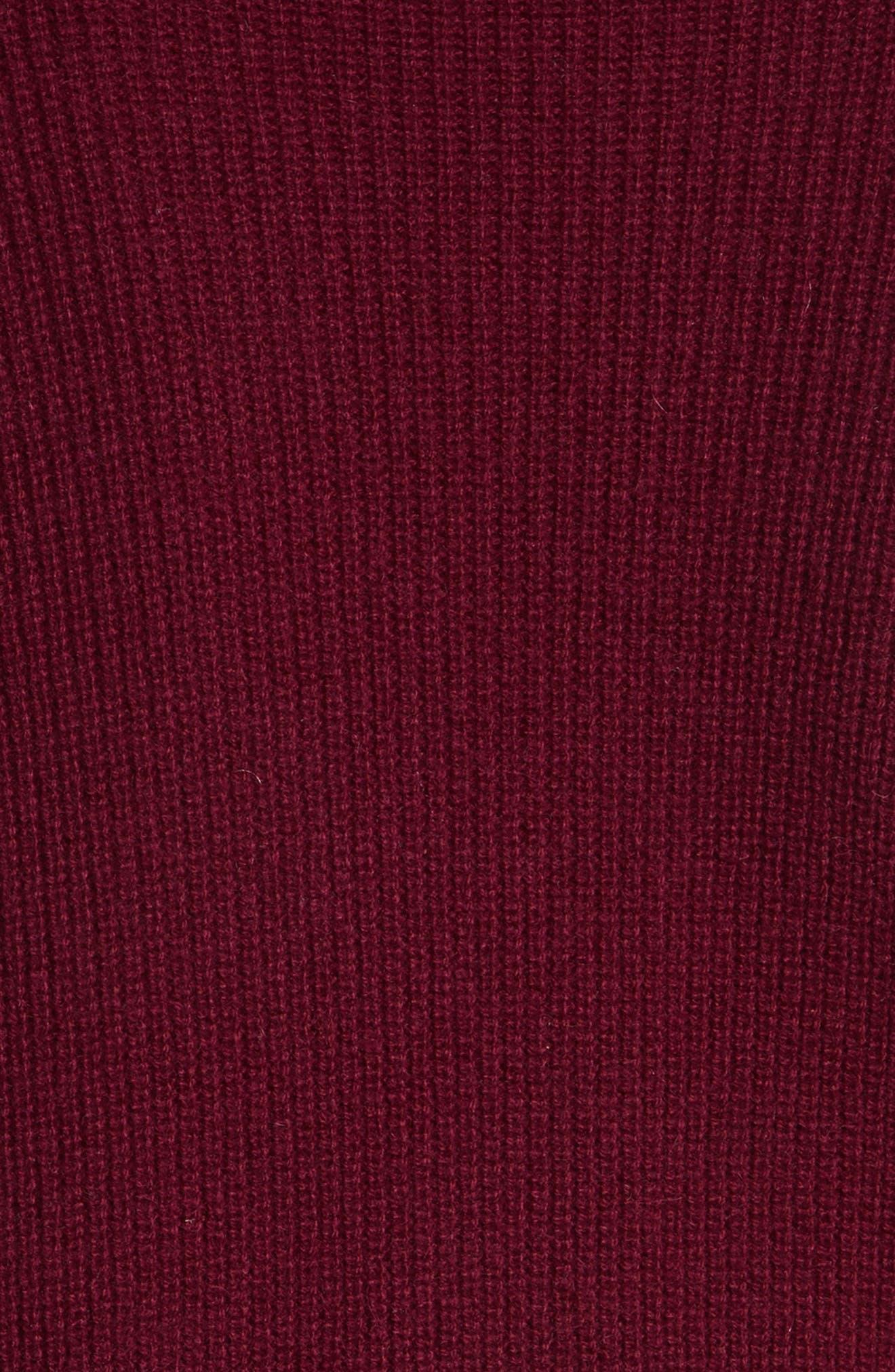 Cold Shoulder Cashmere Pullover,                             Alternate thumbnail 10, color,