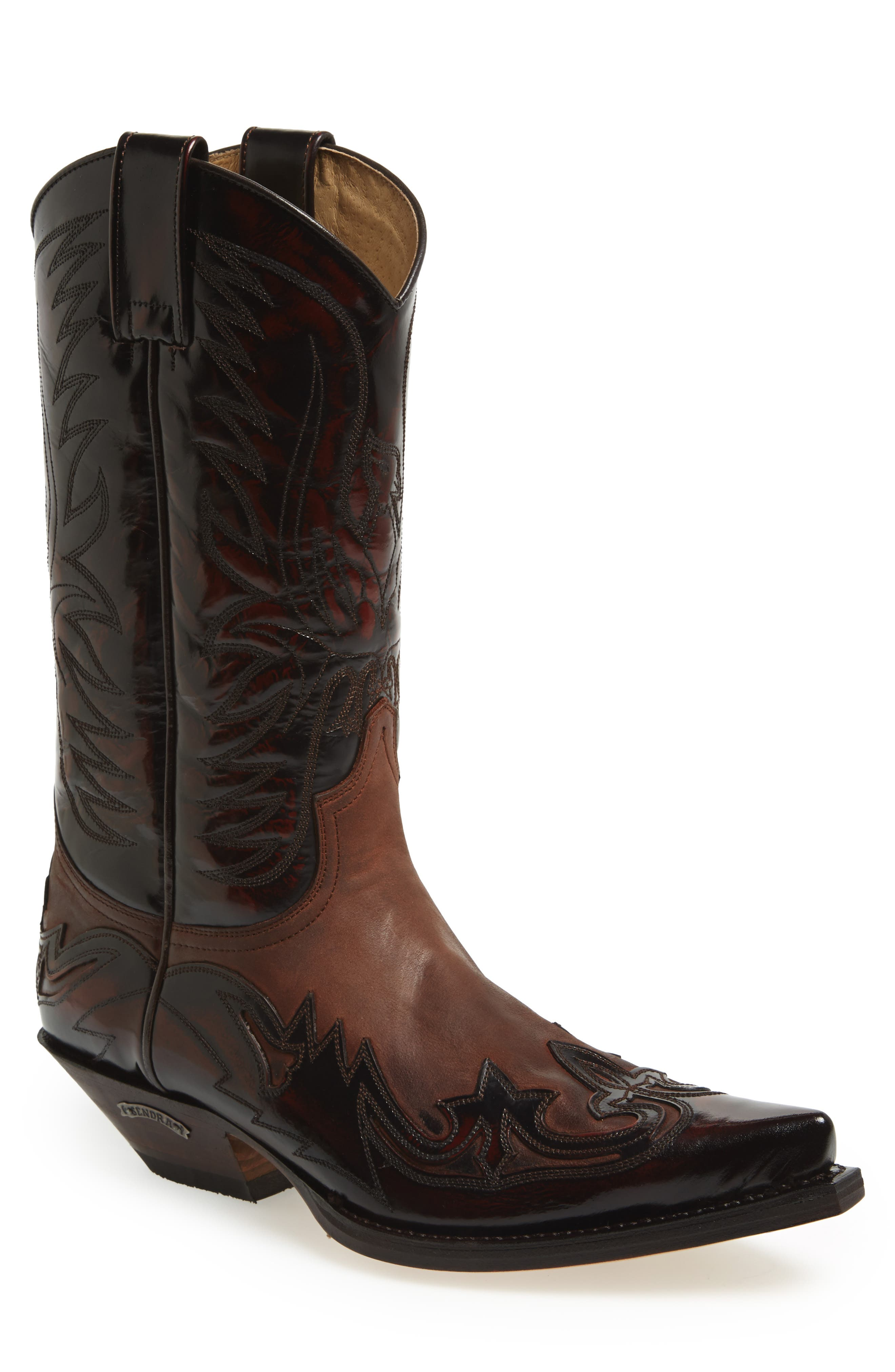 'Duke' Western Boot,                             Alternate thumbnail 5, color,                             249