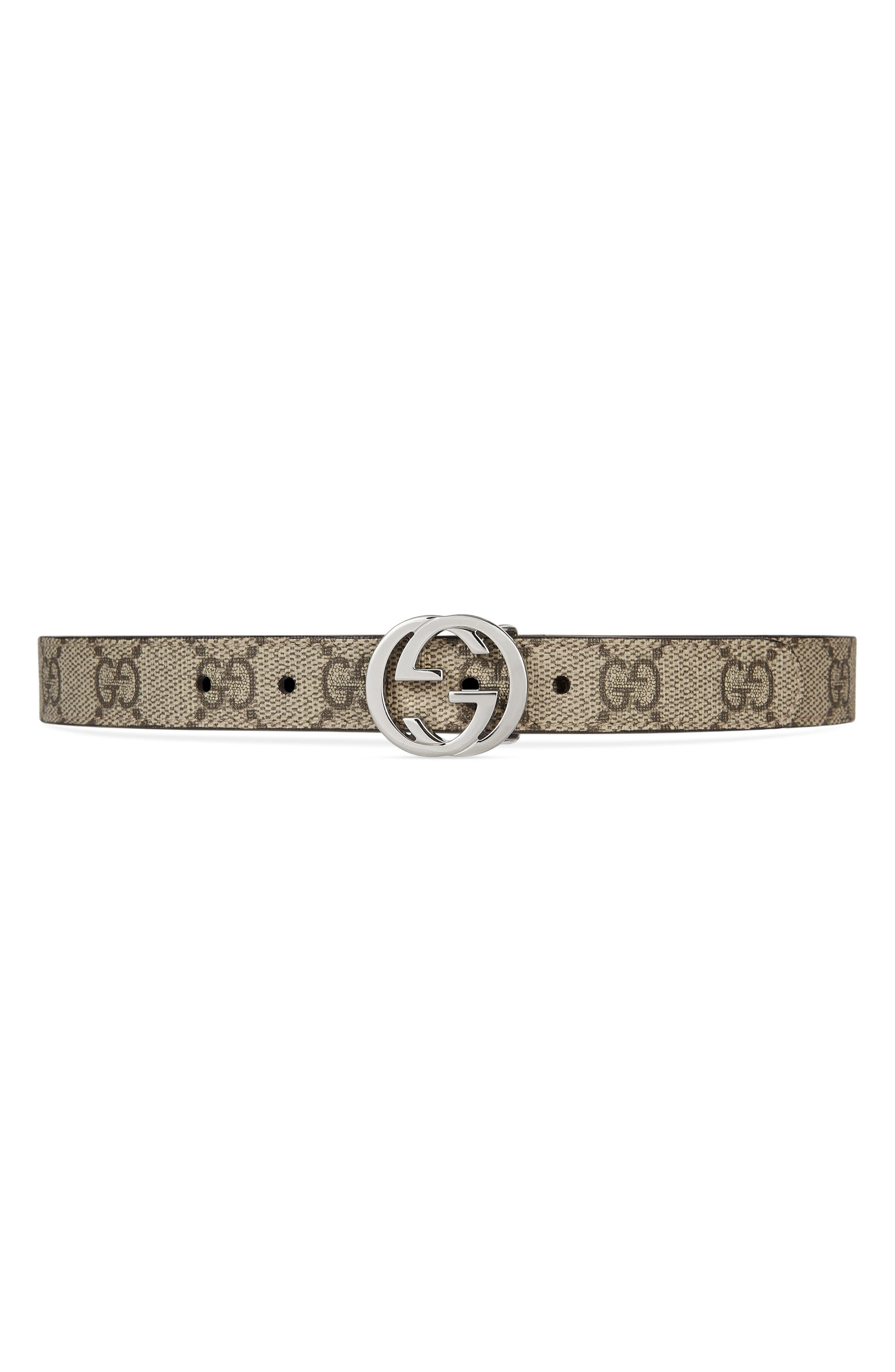 Canvas Belt,                             Alternate thumbnail 2, color,                             BEIGE/ EBONY