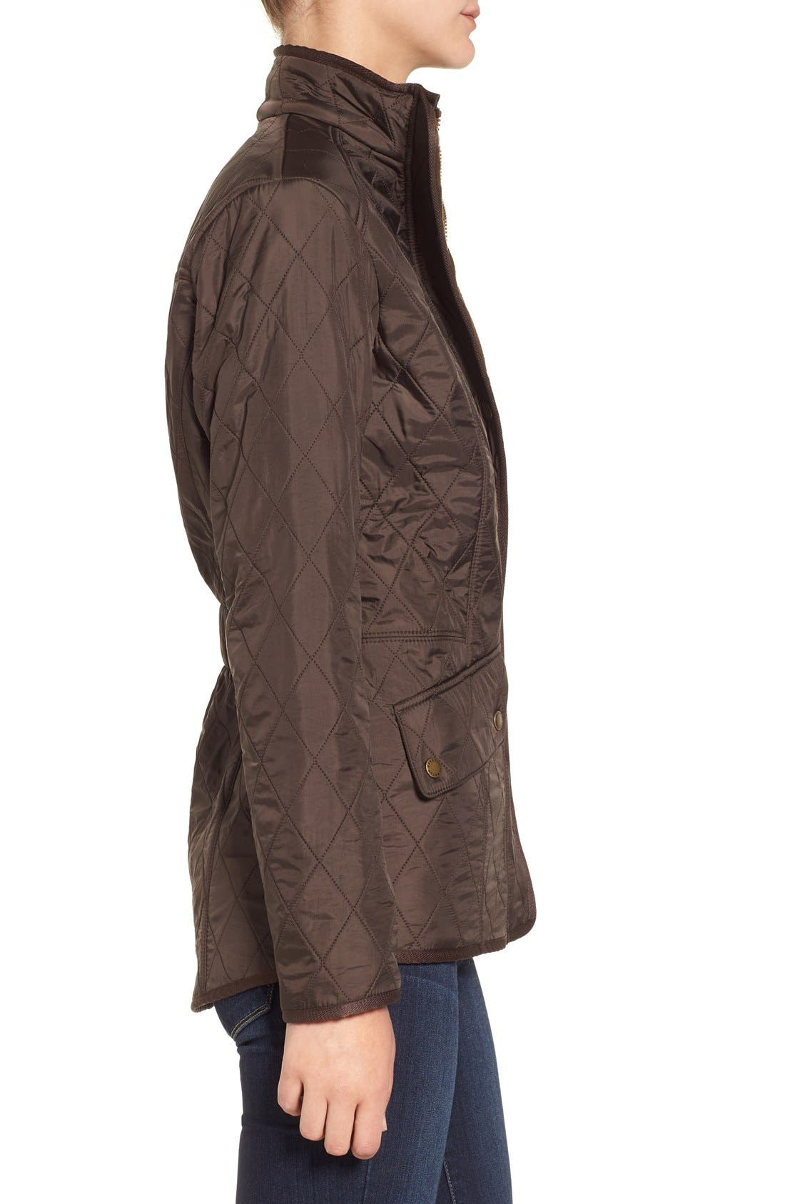 'Cavalry' Quilted Jacket,                             Alternate thumbnail 33, color,