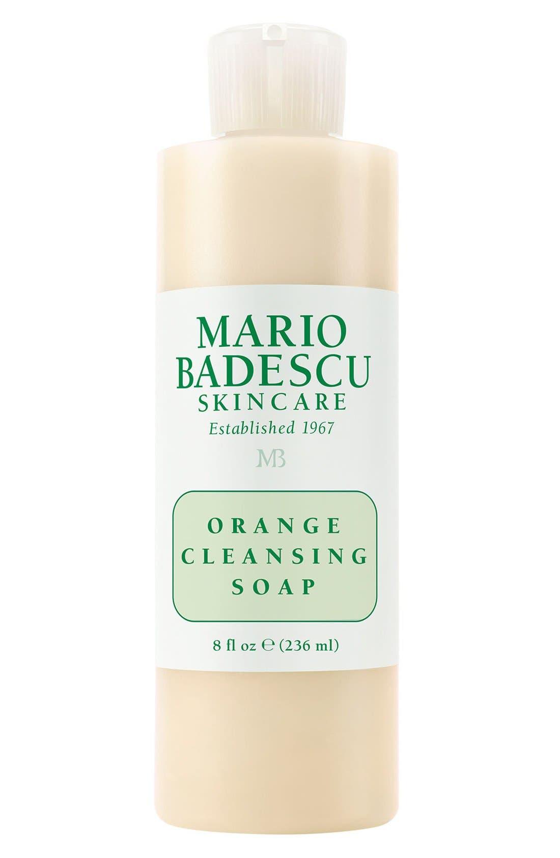 Orange Cleansing Soap,                         Main,                         color, NO COLOR