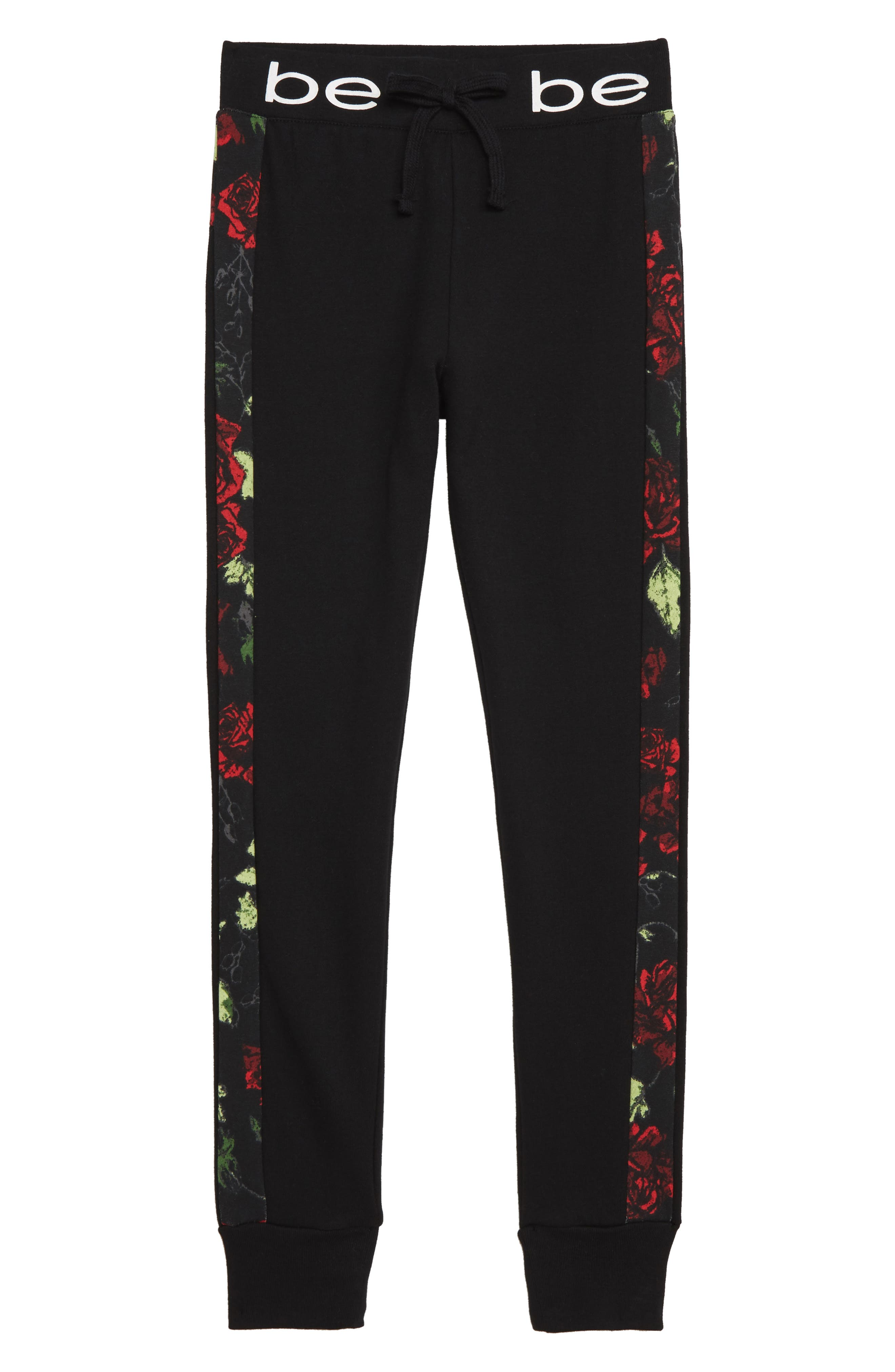 Girls Bebe Fleece Sweatpants