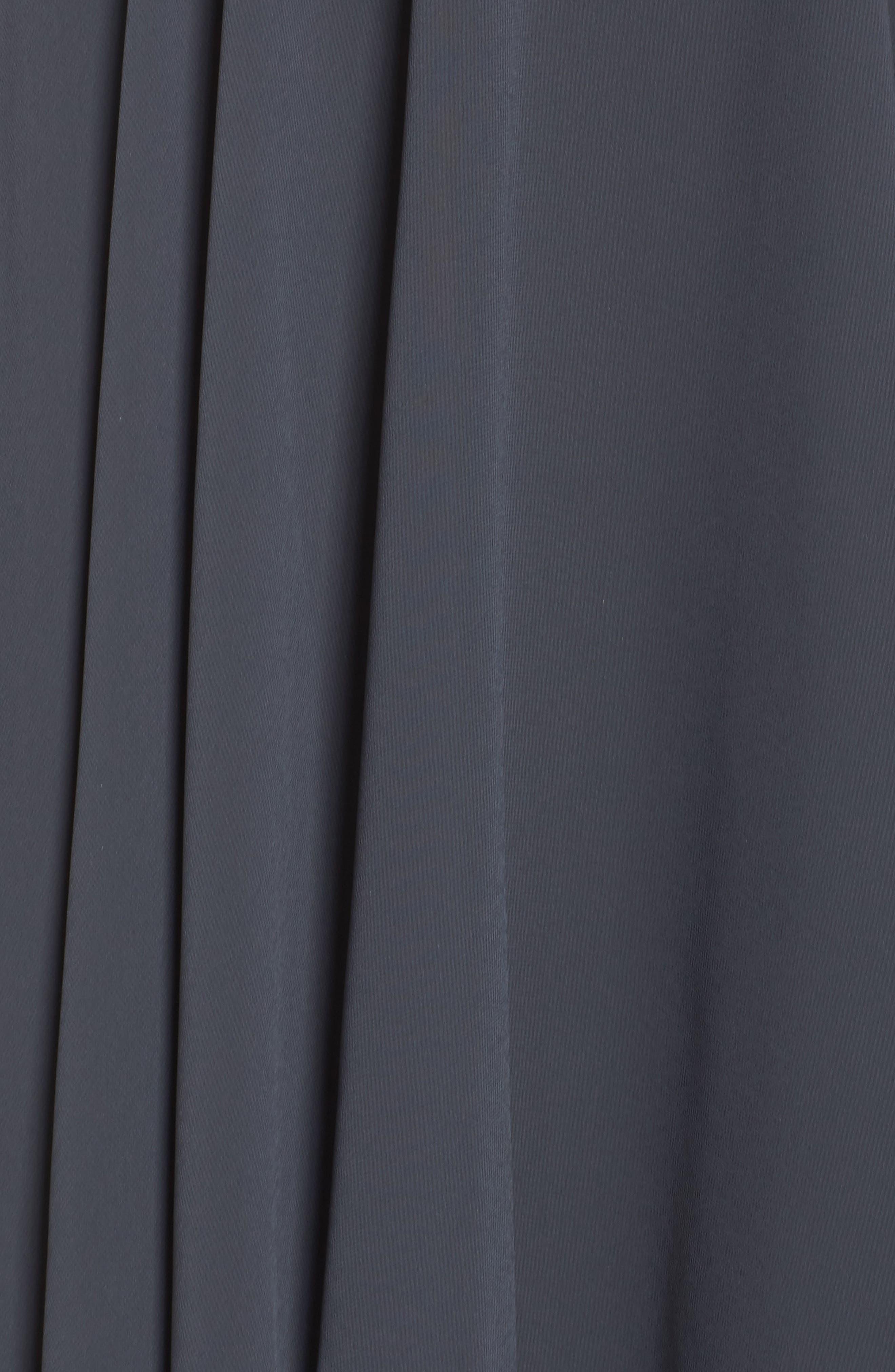 JENNY YOO,                             Sienna Chiffon Dress,                             Alternate thumbnail 5, color,                             026