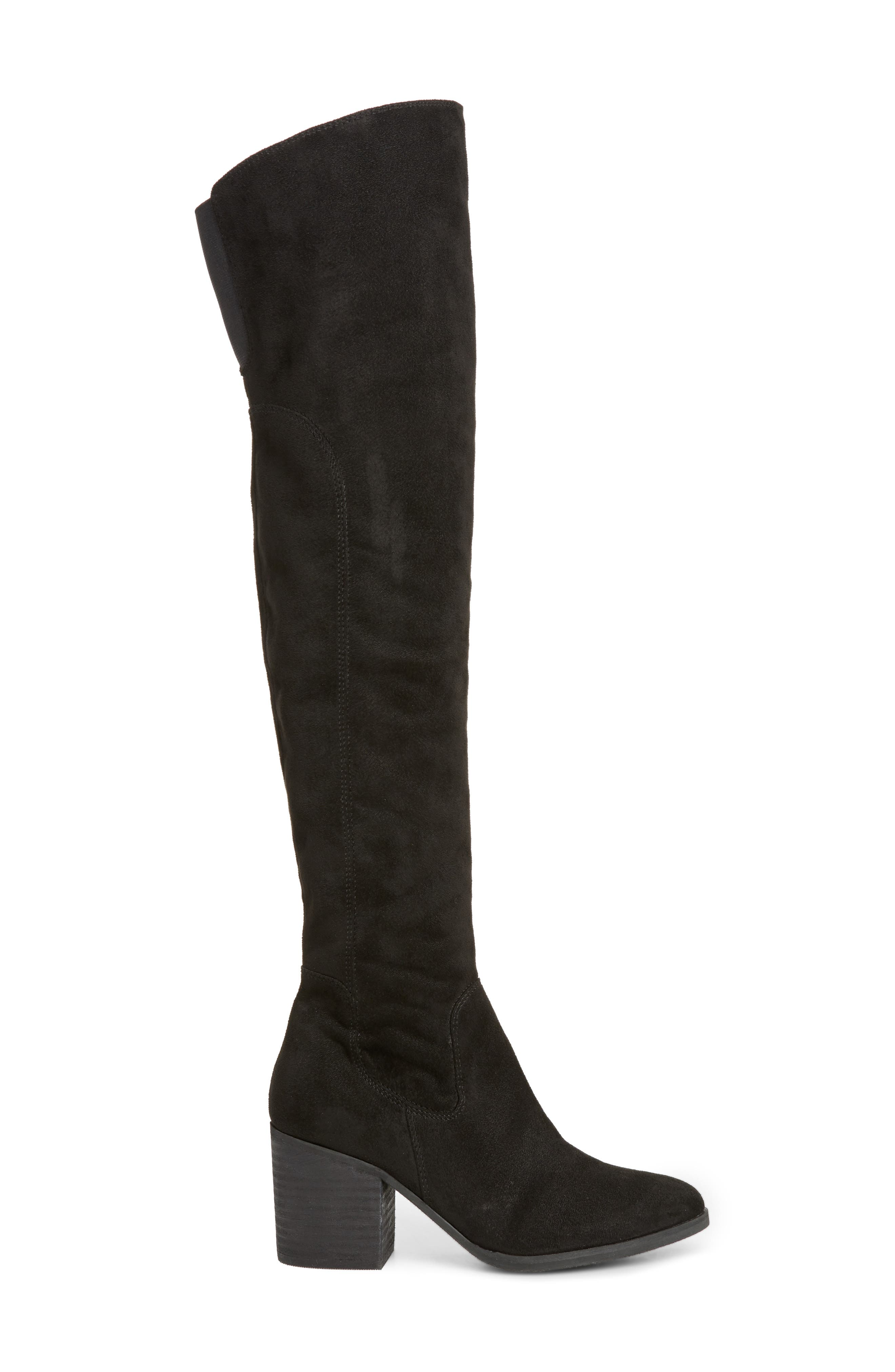 Logan Over the Knee Boot,                             Alternate thumbnail 3, color,                             001