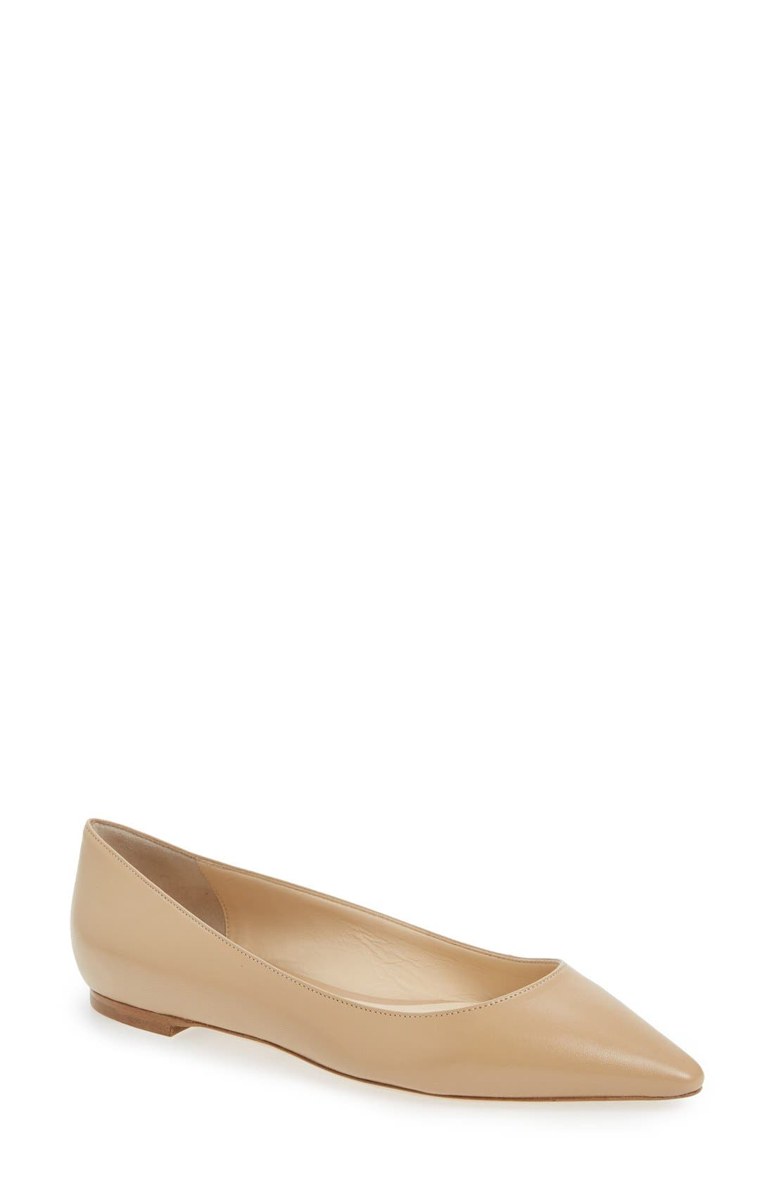'Romy' Pointy Toe Flat,                             Main thumbnail 9, color,