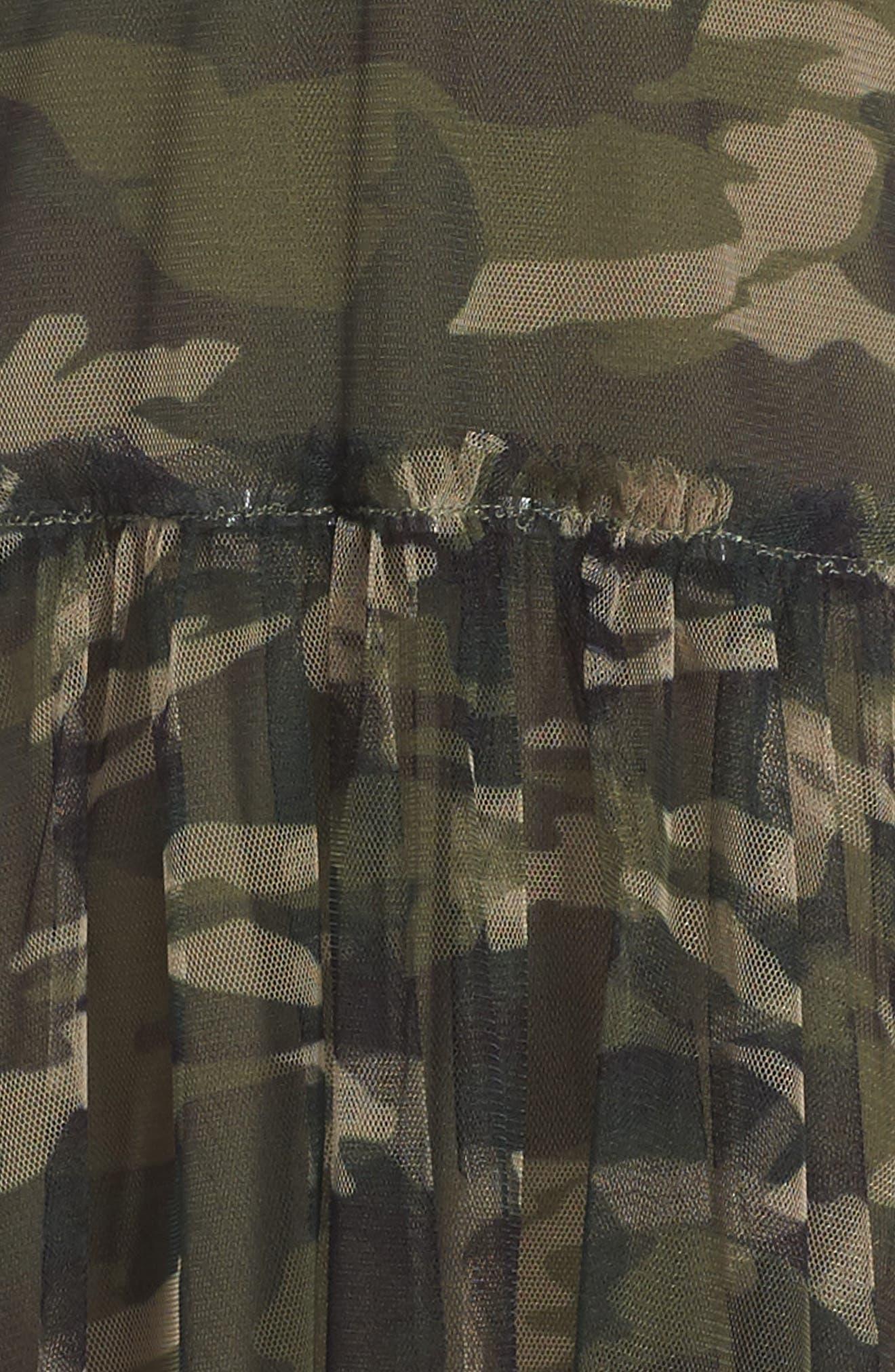 Tulle Overlay Tank Dress,                             Alternate thumbnail 3, color,                             375