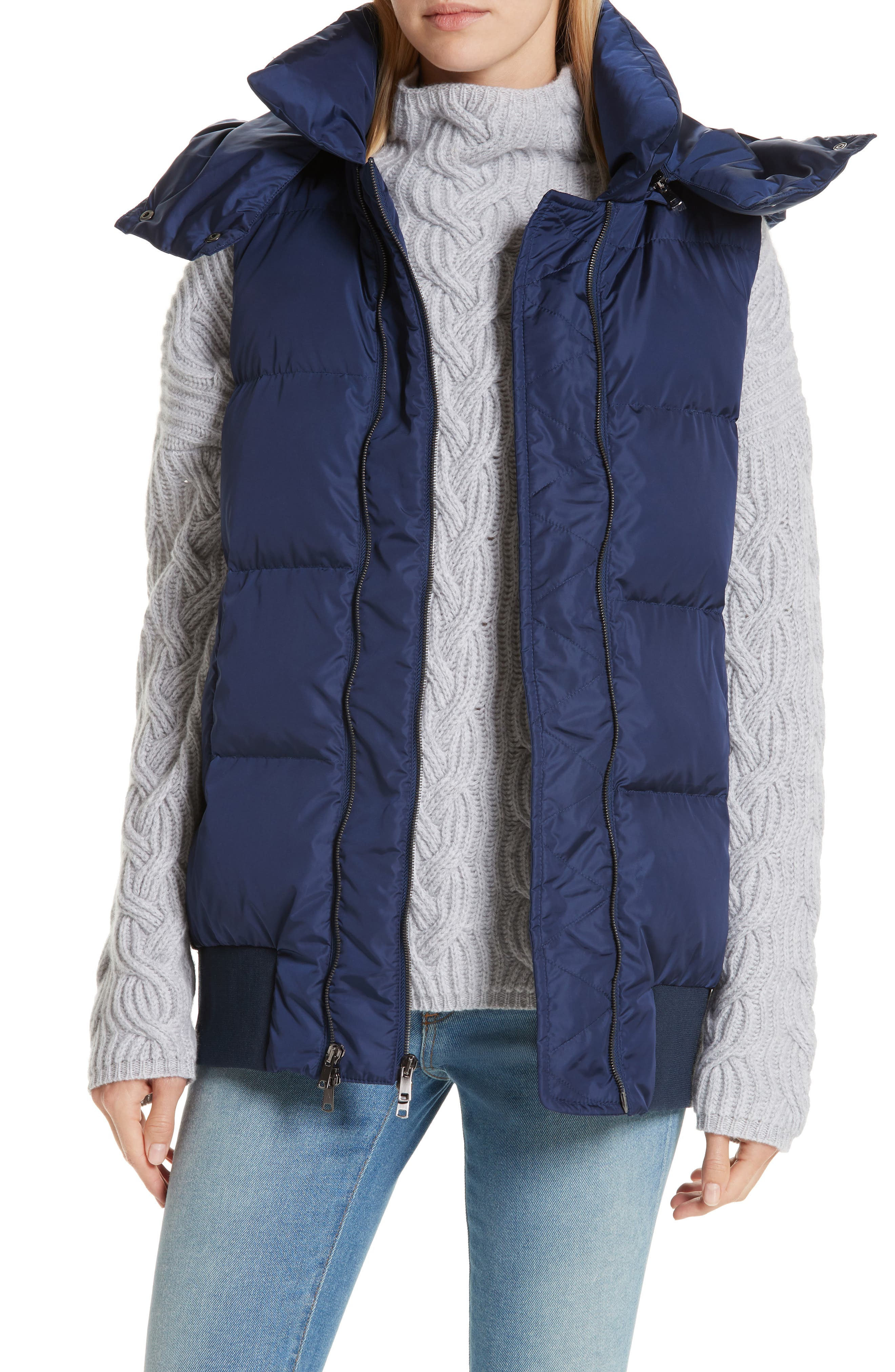 Hooded Puffer Vest,                             Main thumbnail 1, color,                             410