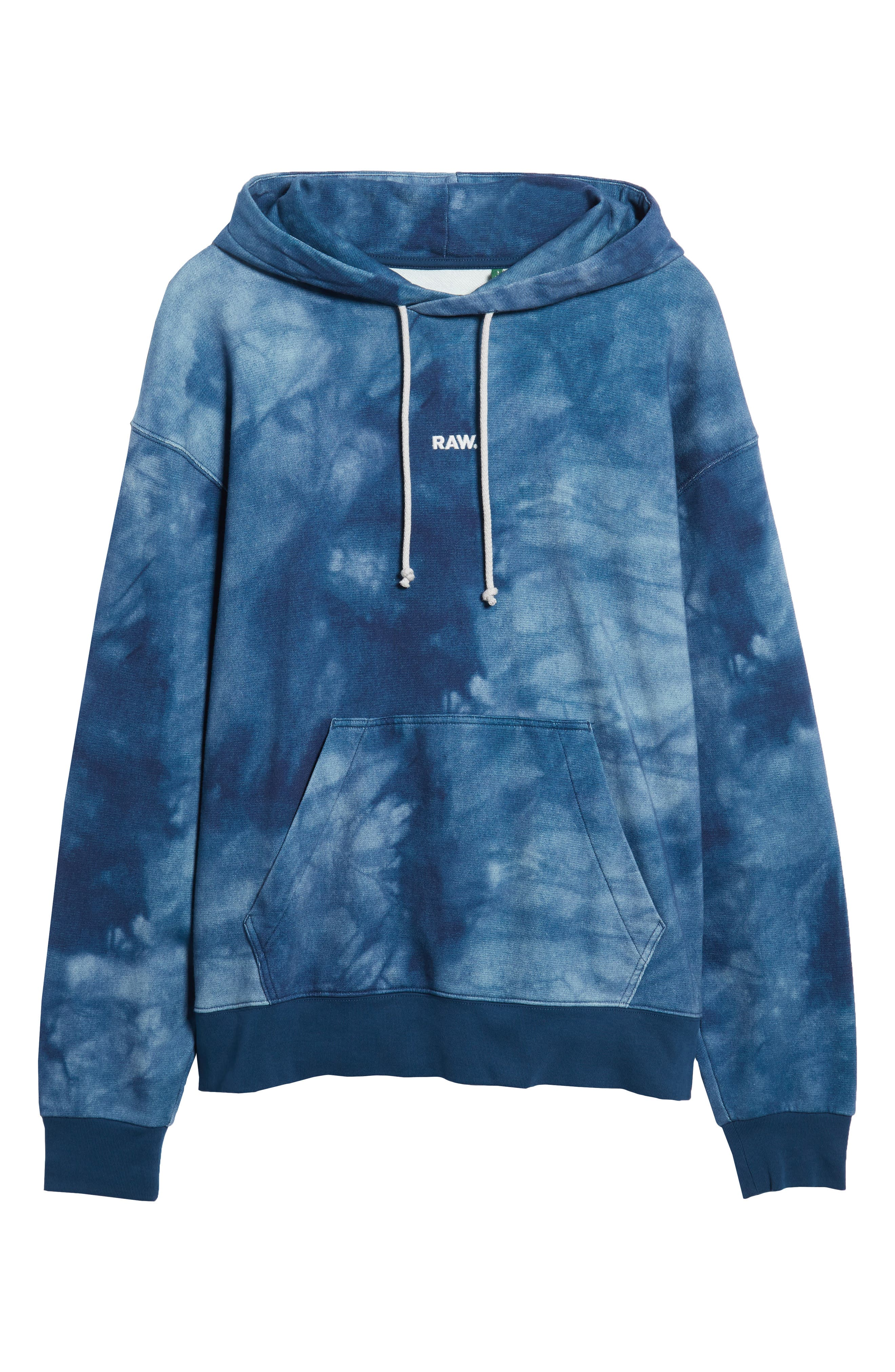 Cryrer Waterfall Hooded Sweatshirt,                             Alternate thumbnail 6, color,                             TEAL BLUE