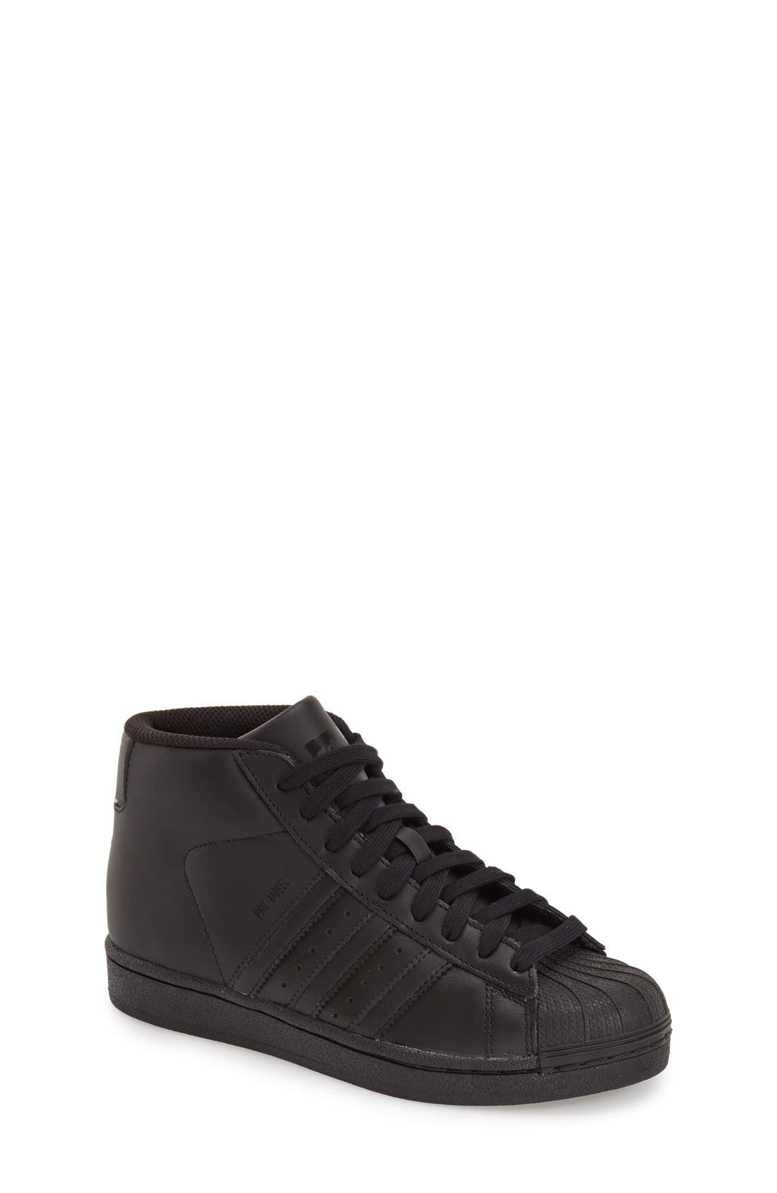 'Pro Model' High Top Sneaker,                             Main thumbnail 1, color,