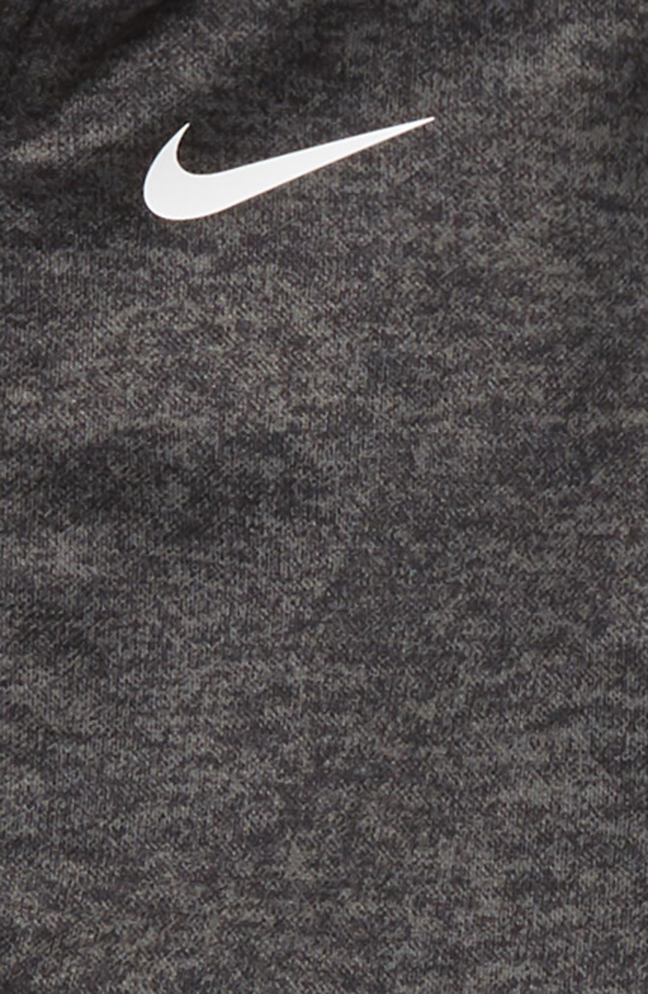 Speckle Dry Zip Hoodie & Pants Set,                             Alternate thumbnail 2, color,                             BLACK