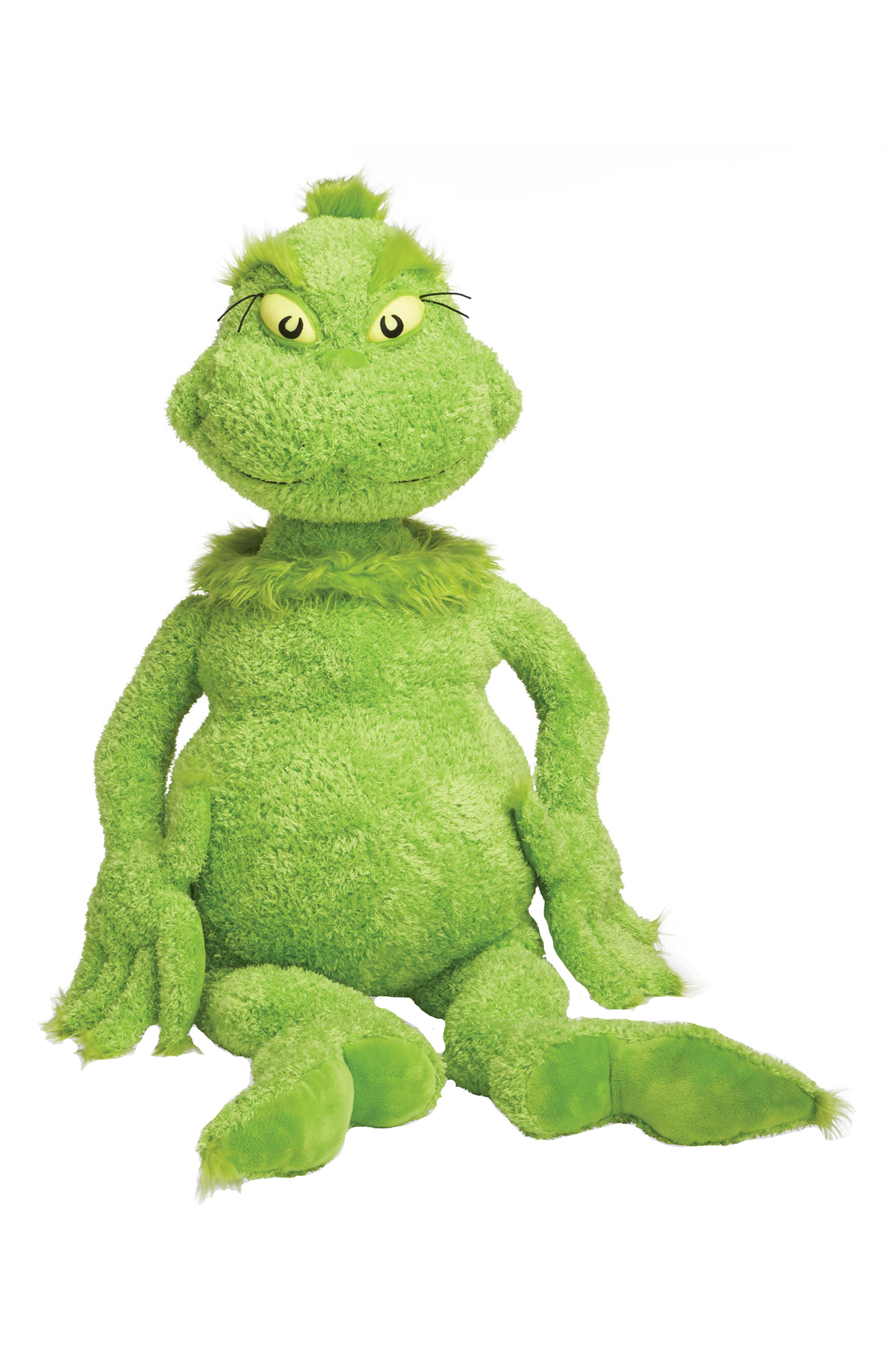 Dr. Seuss -The Grinch Stuffed Toy,                         Main,                         color, 300