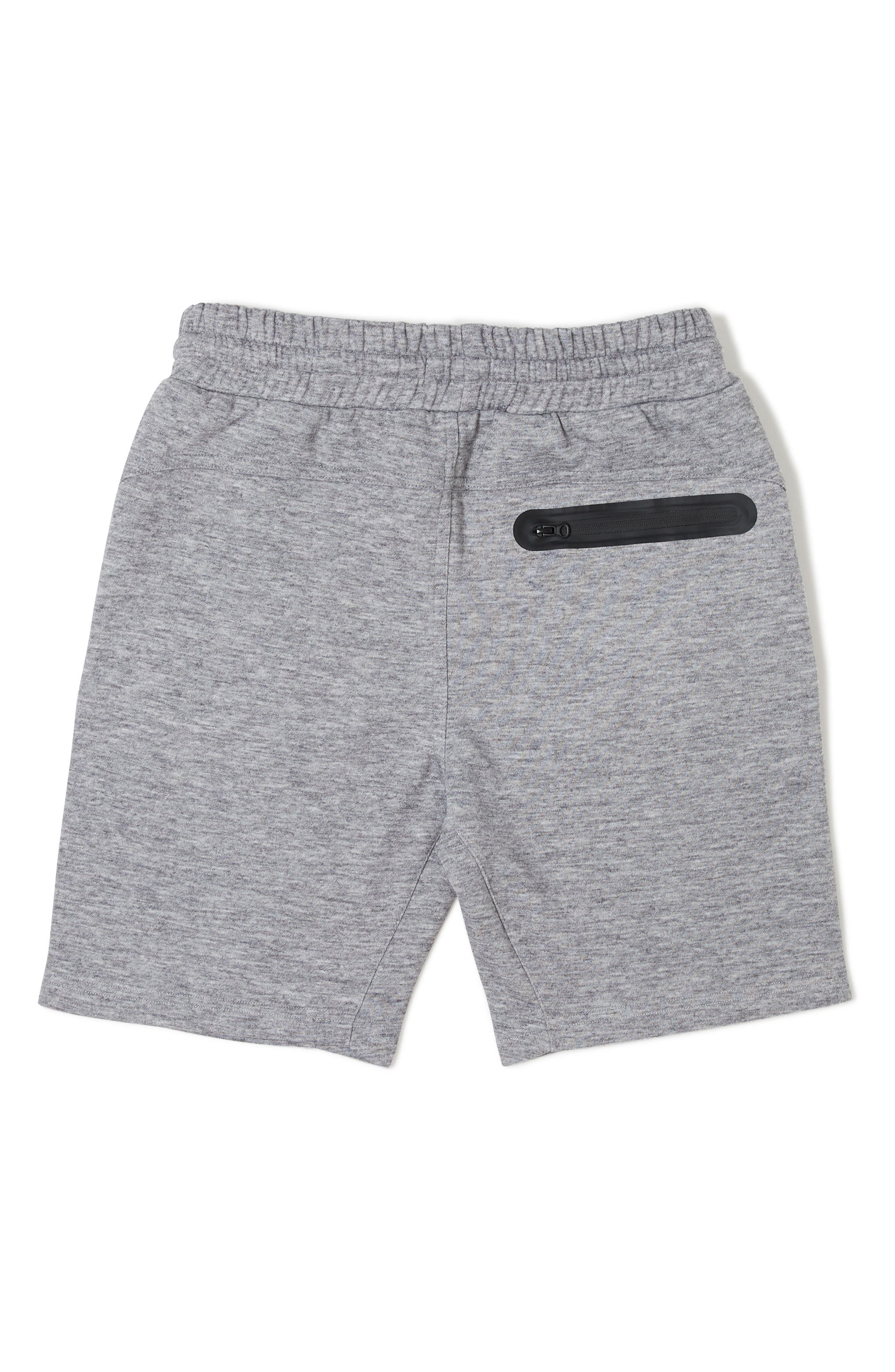 Rhett Knit Shorts,                             Alternate thumbnail 2, color,                             HEATHER GREY