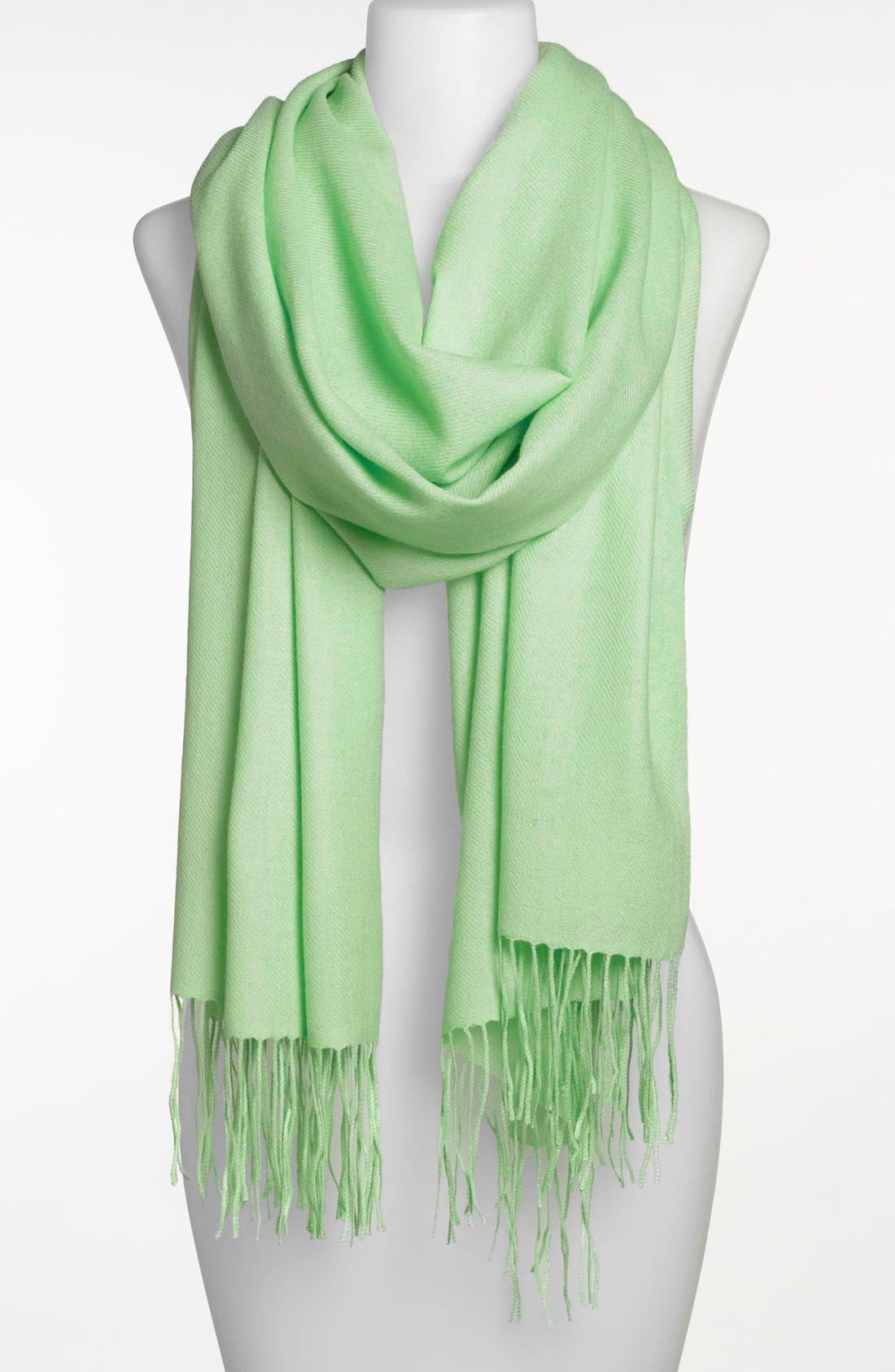 Tissue Weight Wool & Cashmere Wrap,                             Main thumbnail 56, color,