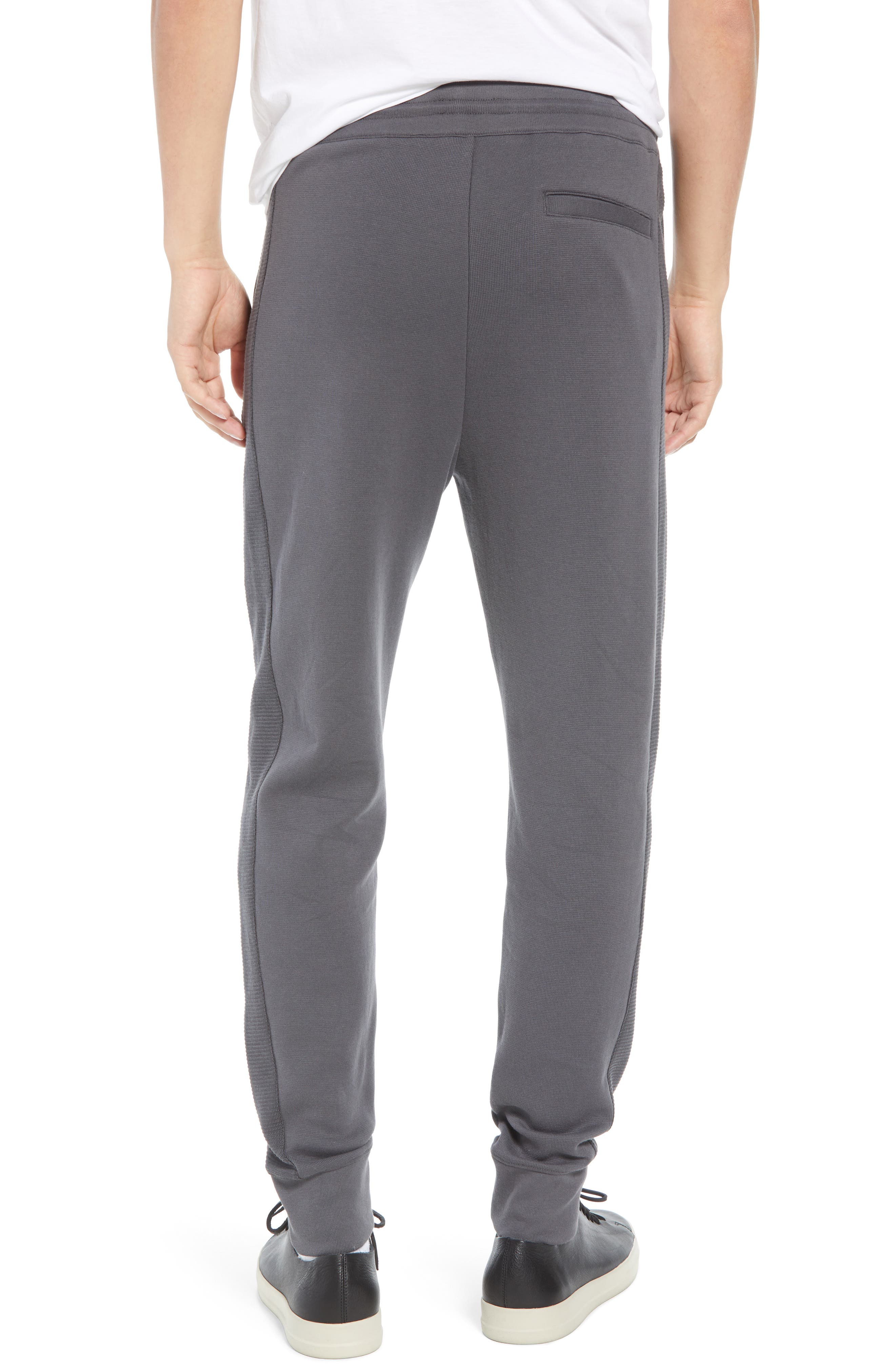 Ottoman Stitch Sweatpants,                             Alternate thumbnail 2, color,                             SLATE
