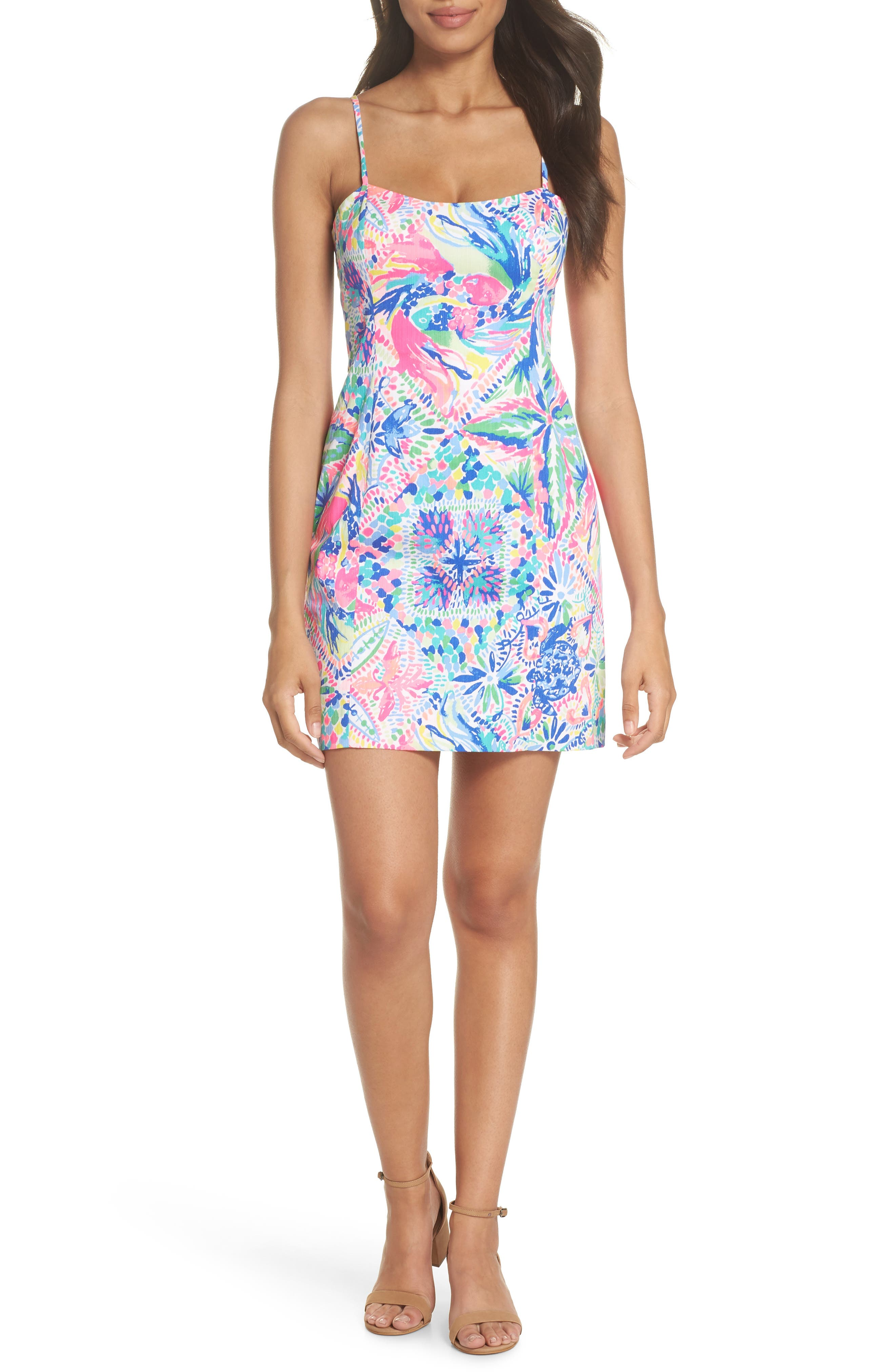 LILLY PULITZER<SUP>®</SUP>,                             Shelli Sundress,                             Alternate thumbnail 6, color,                             660