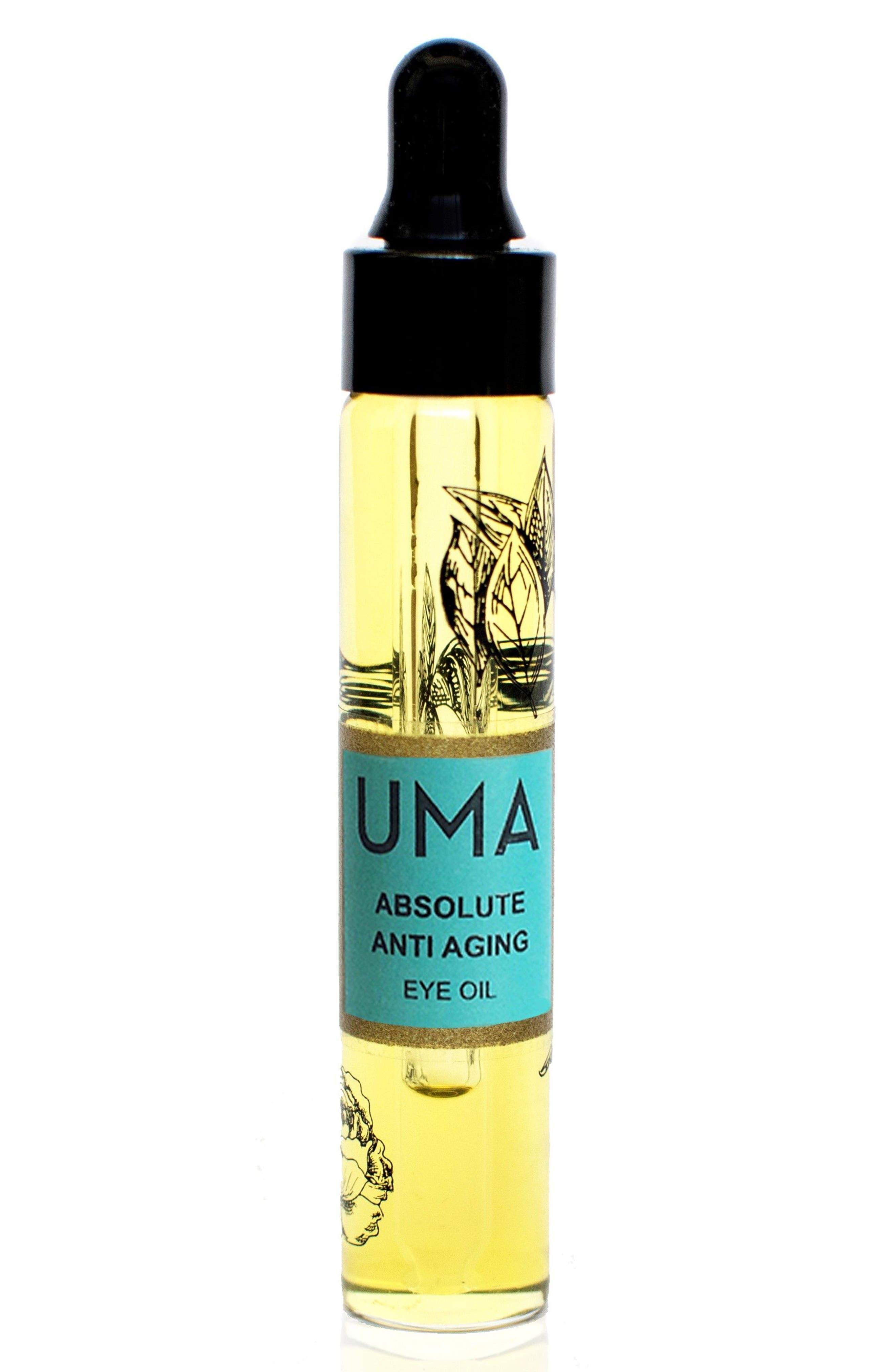 SPACE.NK.apothecary UMA Absolute Anti-Aging Eye Oil,                             Main thumbnail 1, color,                             NO COLOR