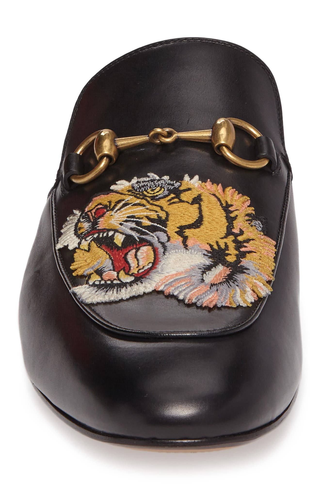 King's Roaring Tiger Bit Loafer,                             Alternate thumbnail 4, color,                             001