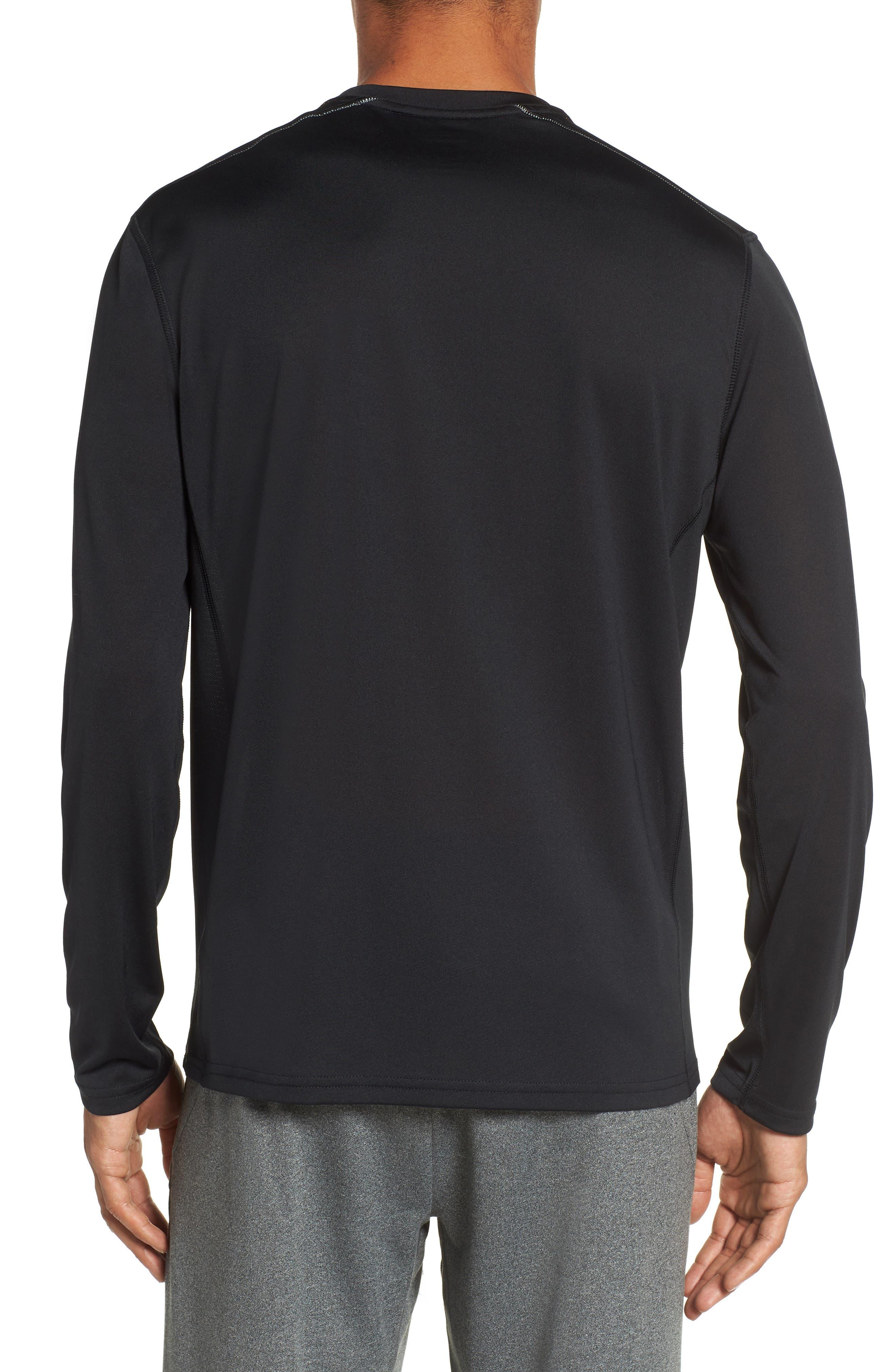 Goodsport T-Shirt,                             Alternate thumbnail 2, color,                             JET BLACK