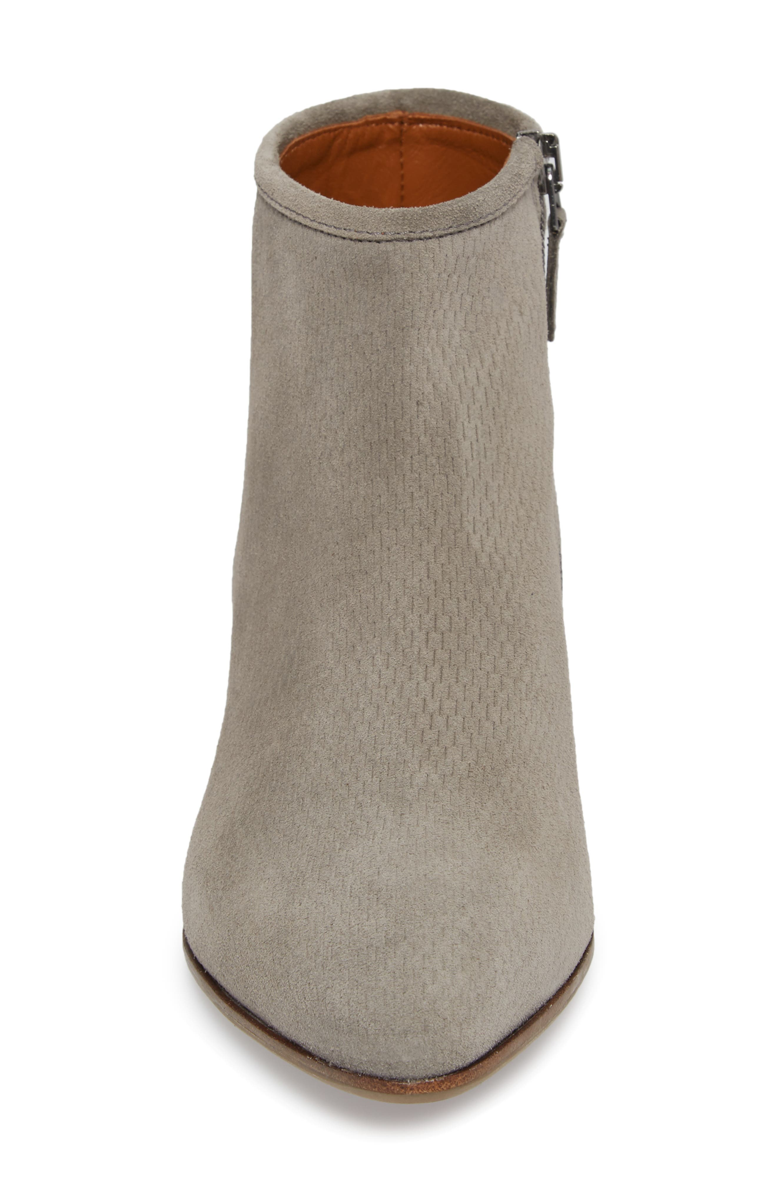 Fire Embossed Bootie,                             Alternate thumbnail 4, color,                             020