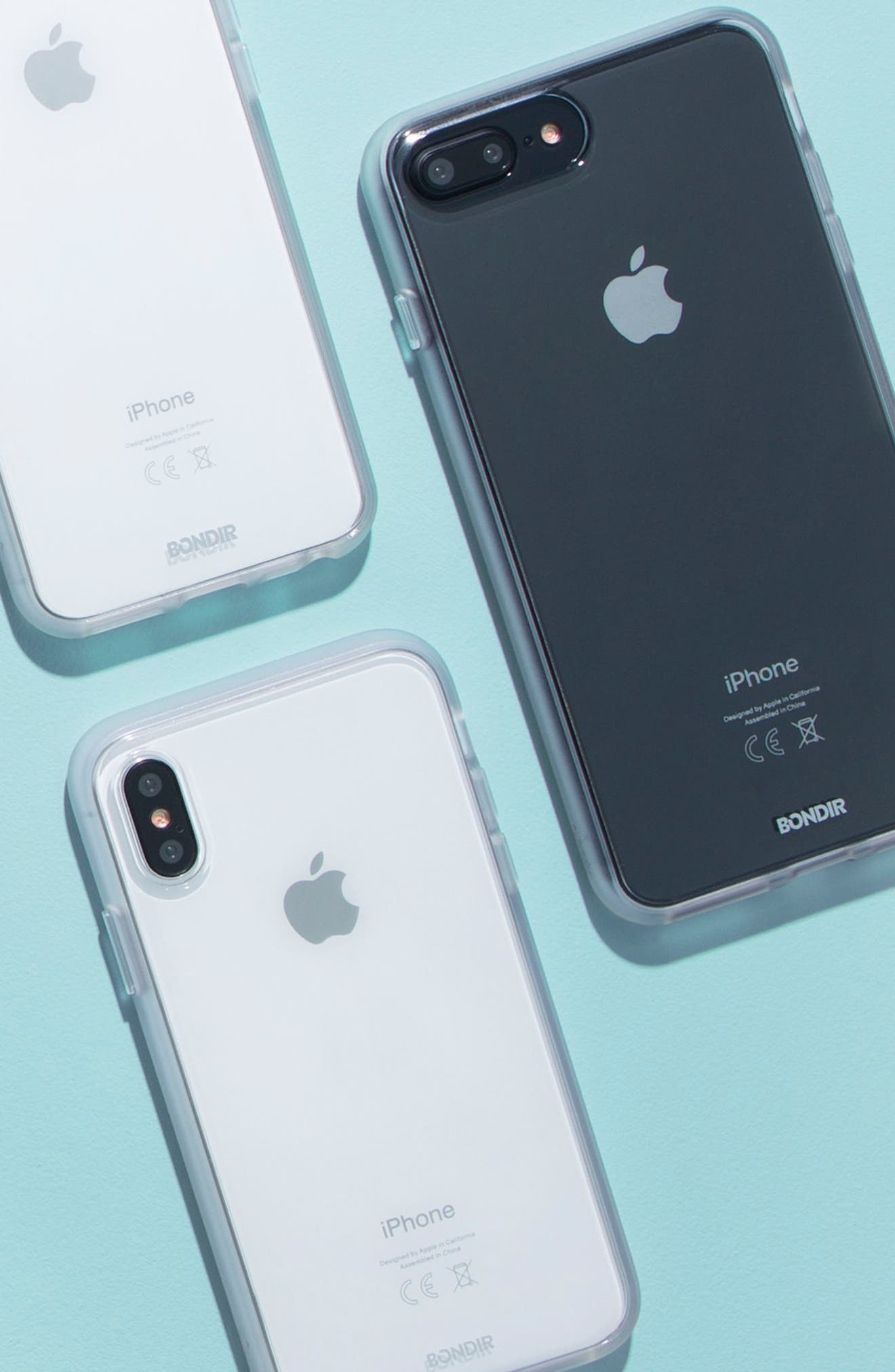 Clear iPhone X & Xs Case,                             Alternate thumbnail 3, color,
