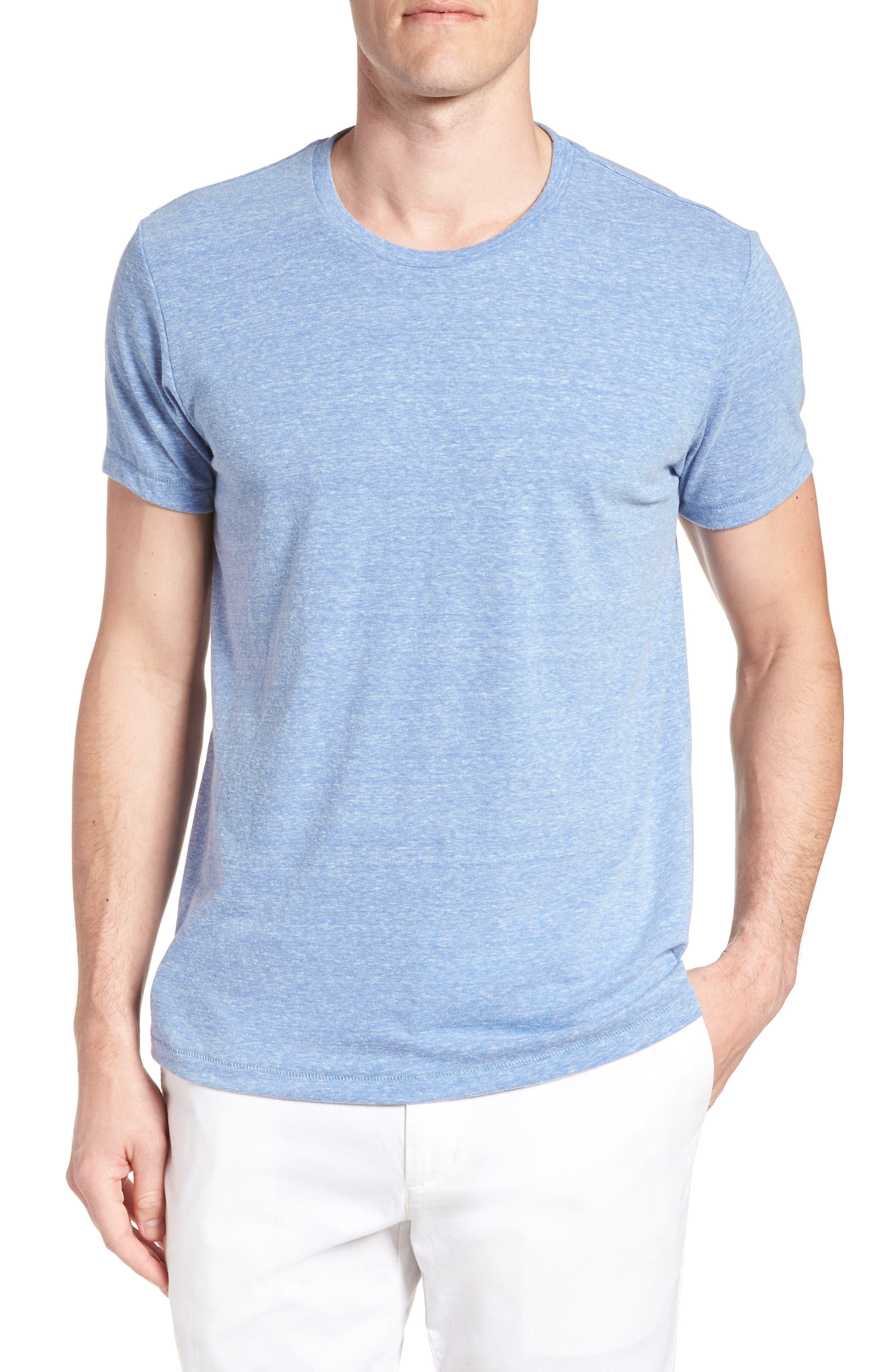 LA Slim Fit Heathered T-Shirt,                             Main thumbnail 2, color,
