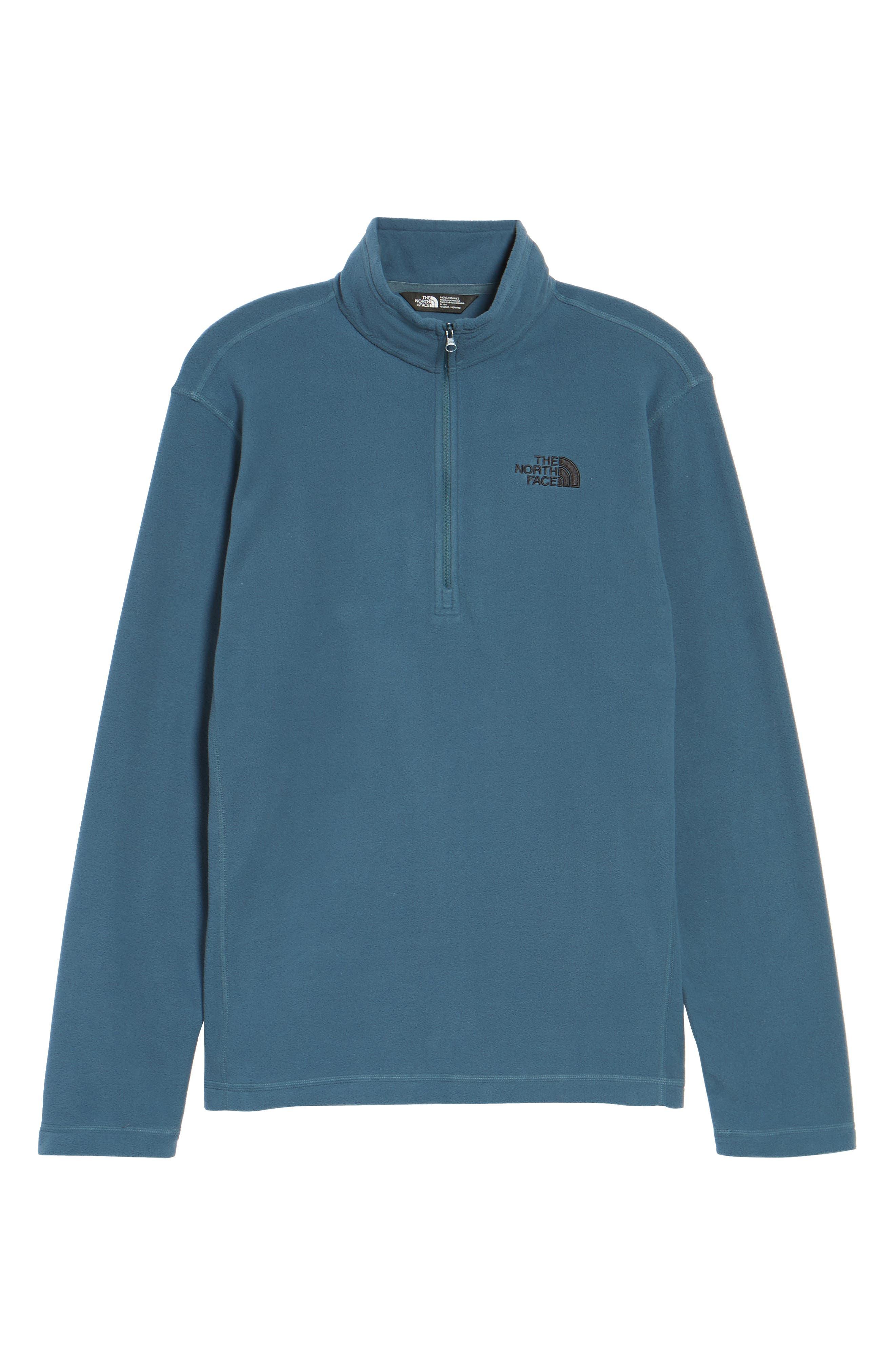 'TKA 100 Glacier' Quarter Zip Fleece Pullover,                             Alternate thumbnail 205, color,