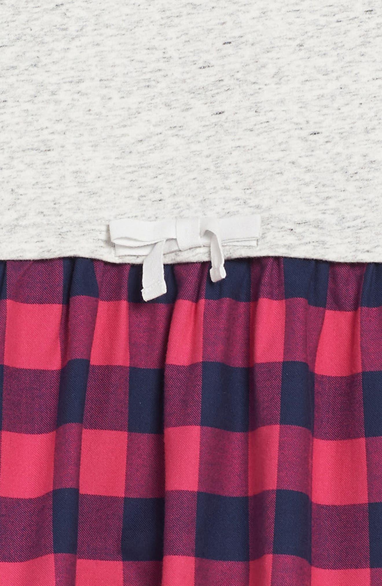 Buffalo Check Sweatshirt,                             Alternate thumbnail 3, color,