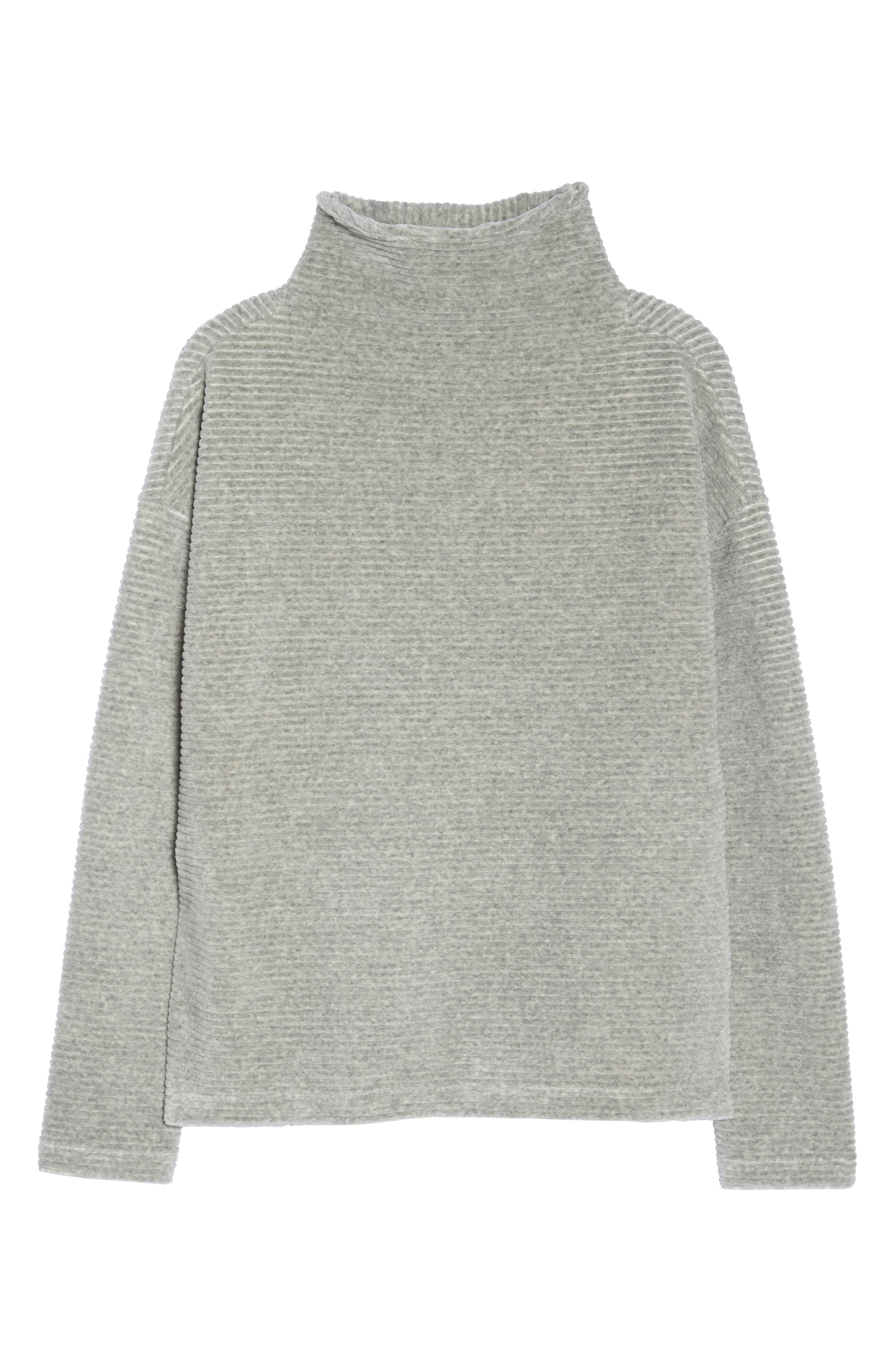 Bright Side Pullover,                             Alternate thumbnail 7, color,                             GREY CRYSTAL