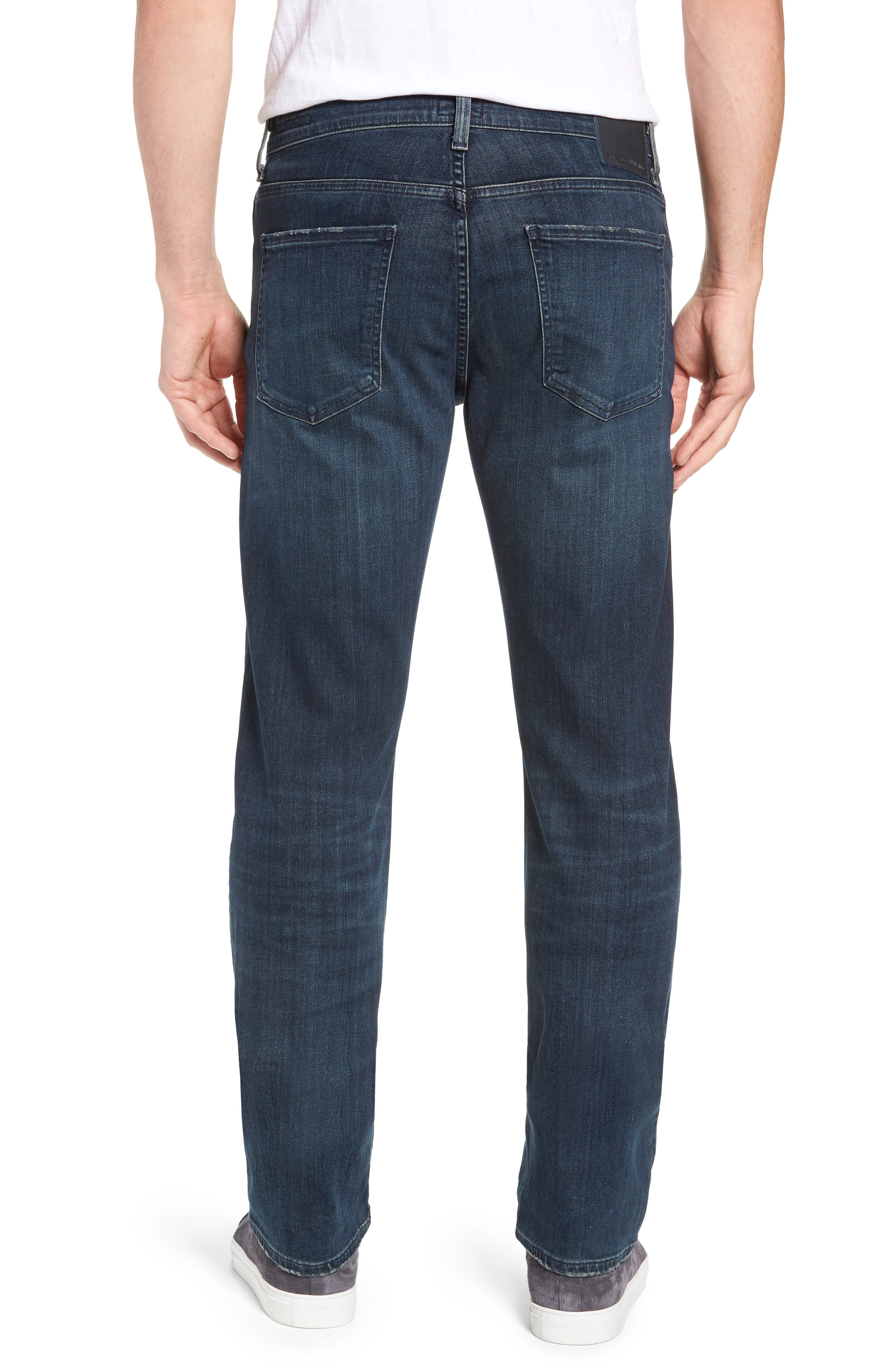 PERFORM - Sid Straight Leg Jeans,                             Alternate thumbnail 3, color,                             NORLAND